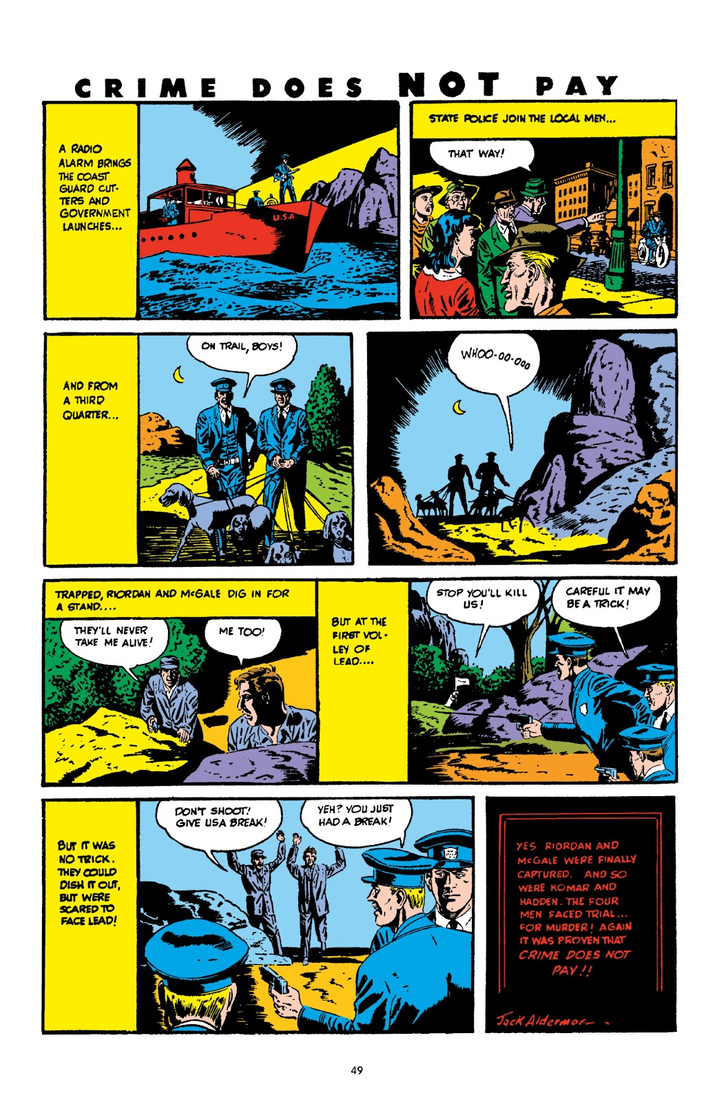 Read online Crime Does Not Pay Archives comic -  Issue # TPB 3 (Part 1) - 49