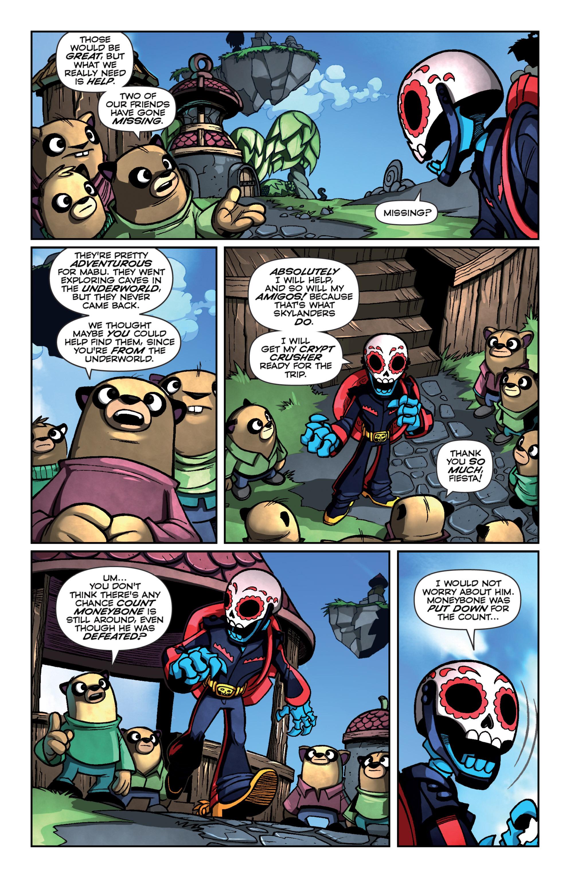 Read online Skylanders Superchargers comic -  Issue #4 - 8