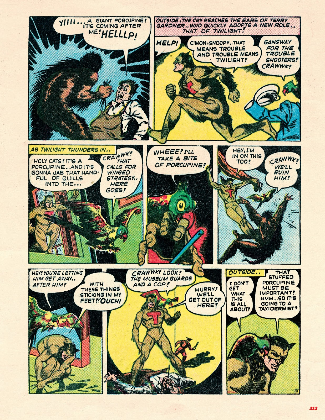 Read online Super Weird Heroes comic -  Issue # TPB 2 (Part 3) - 113