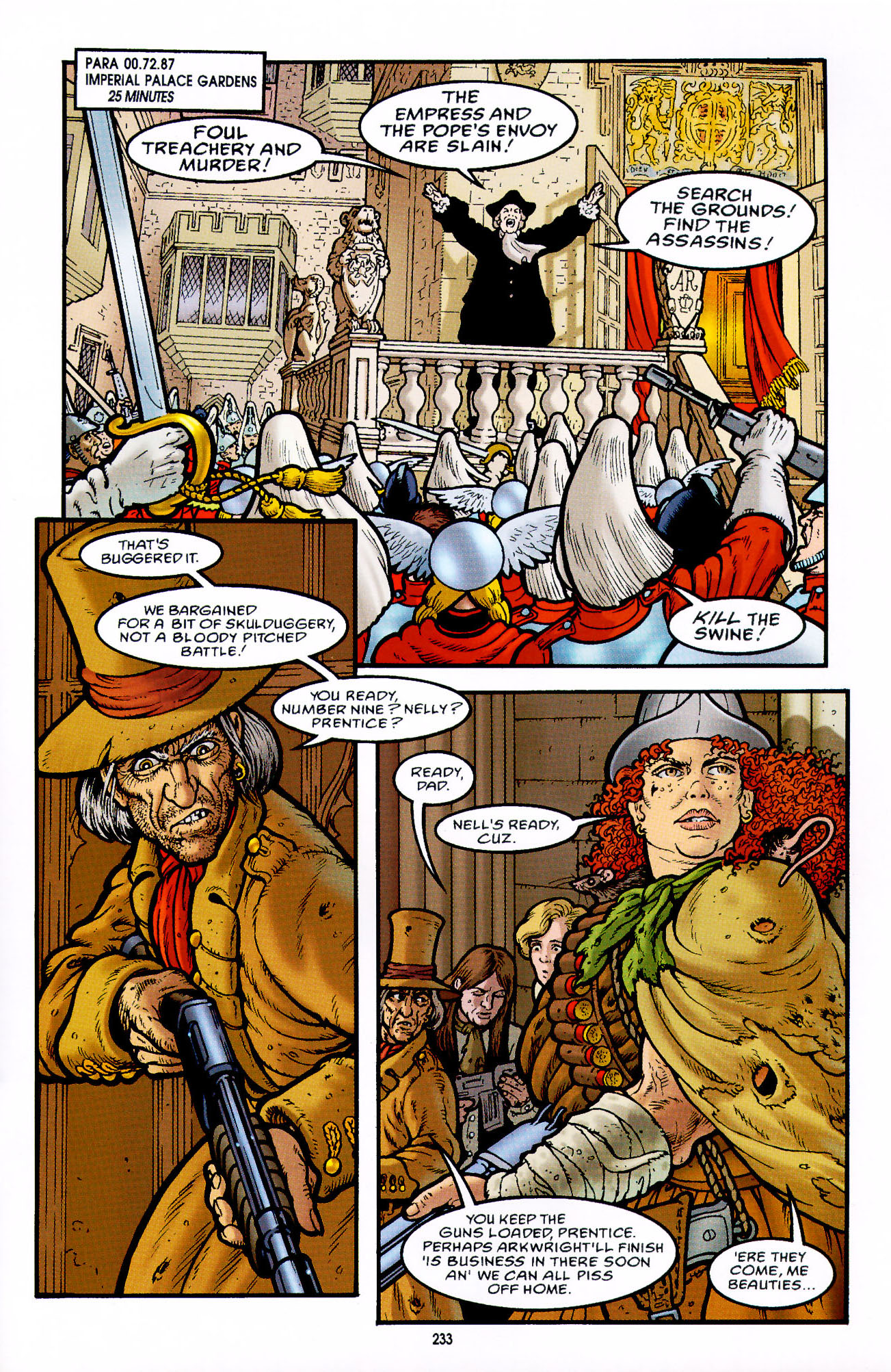 Read online Heart of Empire comic -  Issue #8 - 9