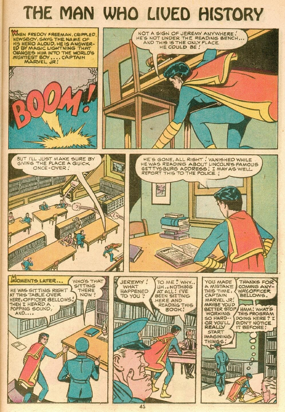 Captain Marvel, Jr. issue 83 - Page 4