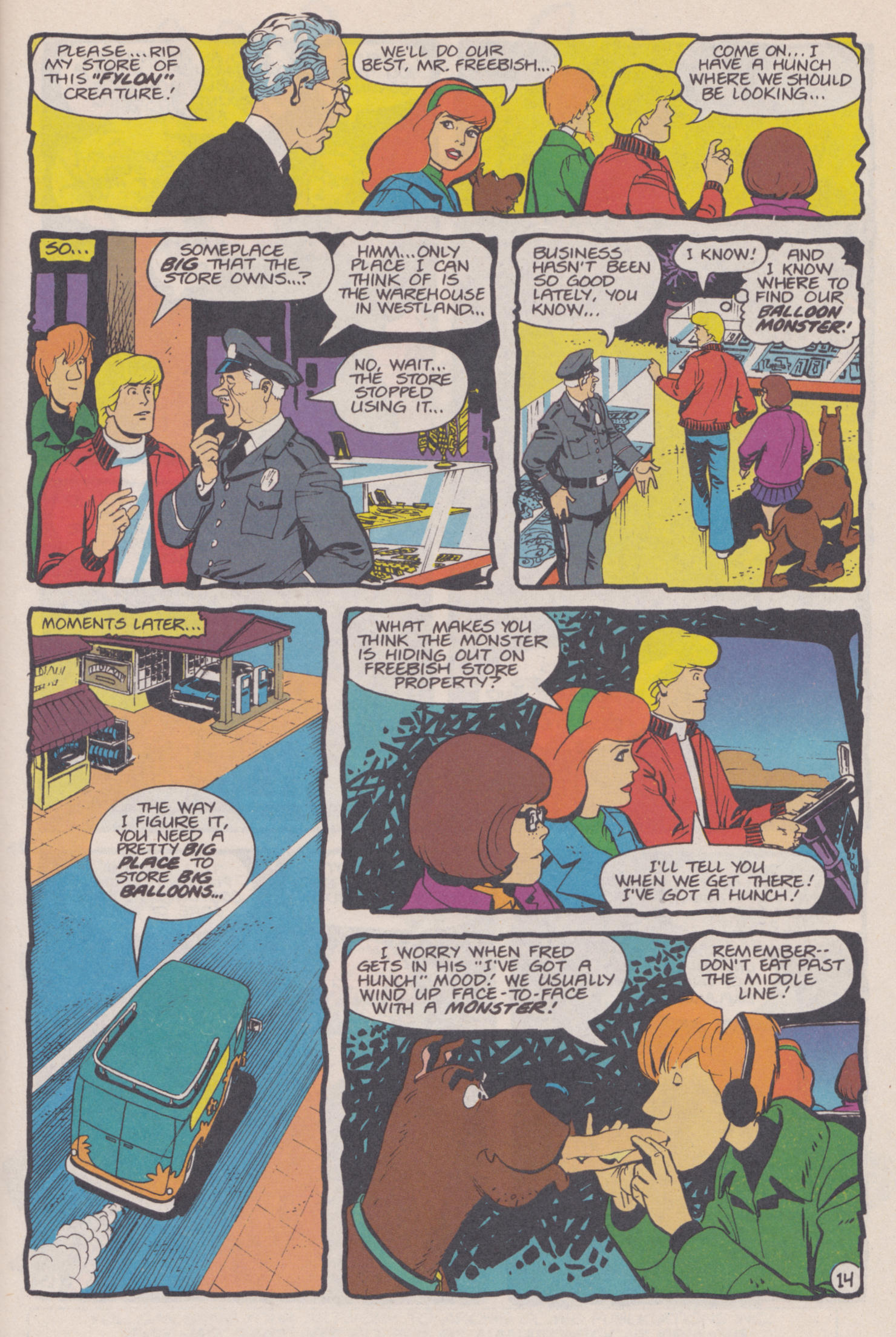 Read online Scooby-Doo (1995) comic -  Issue #14 - 15