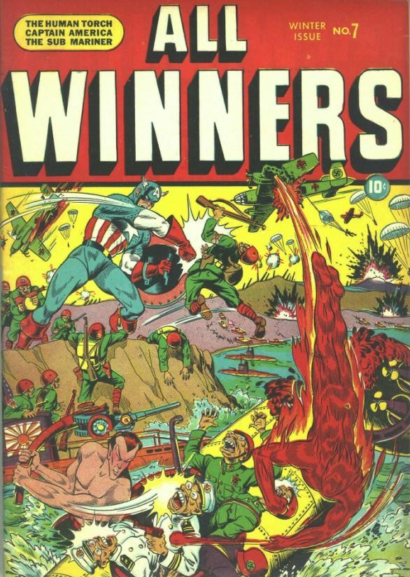 Read online All-Winners Comics comic -  Issue #7 - 1