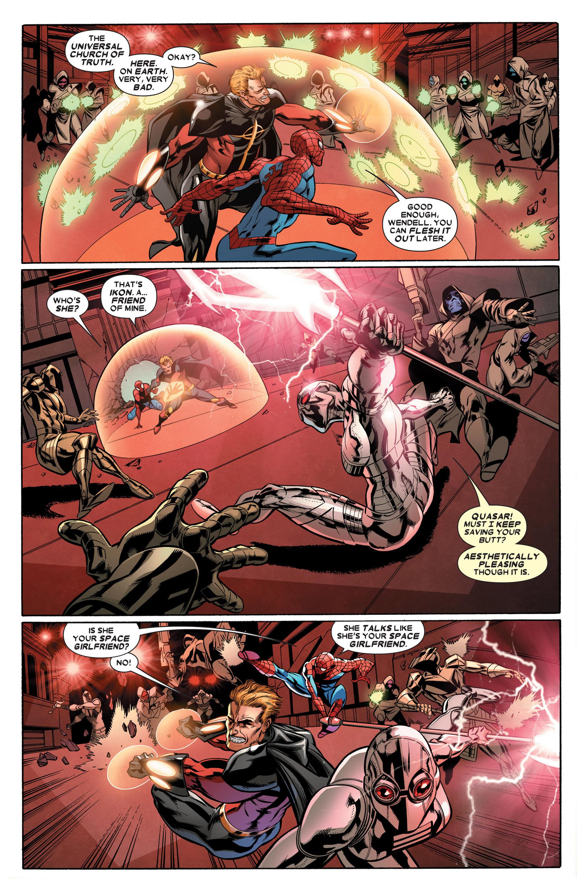 Read online Annihilators: Earthfall comic -  Issue #2 - 18