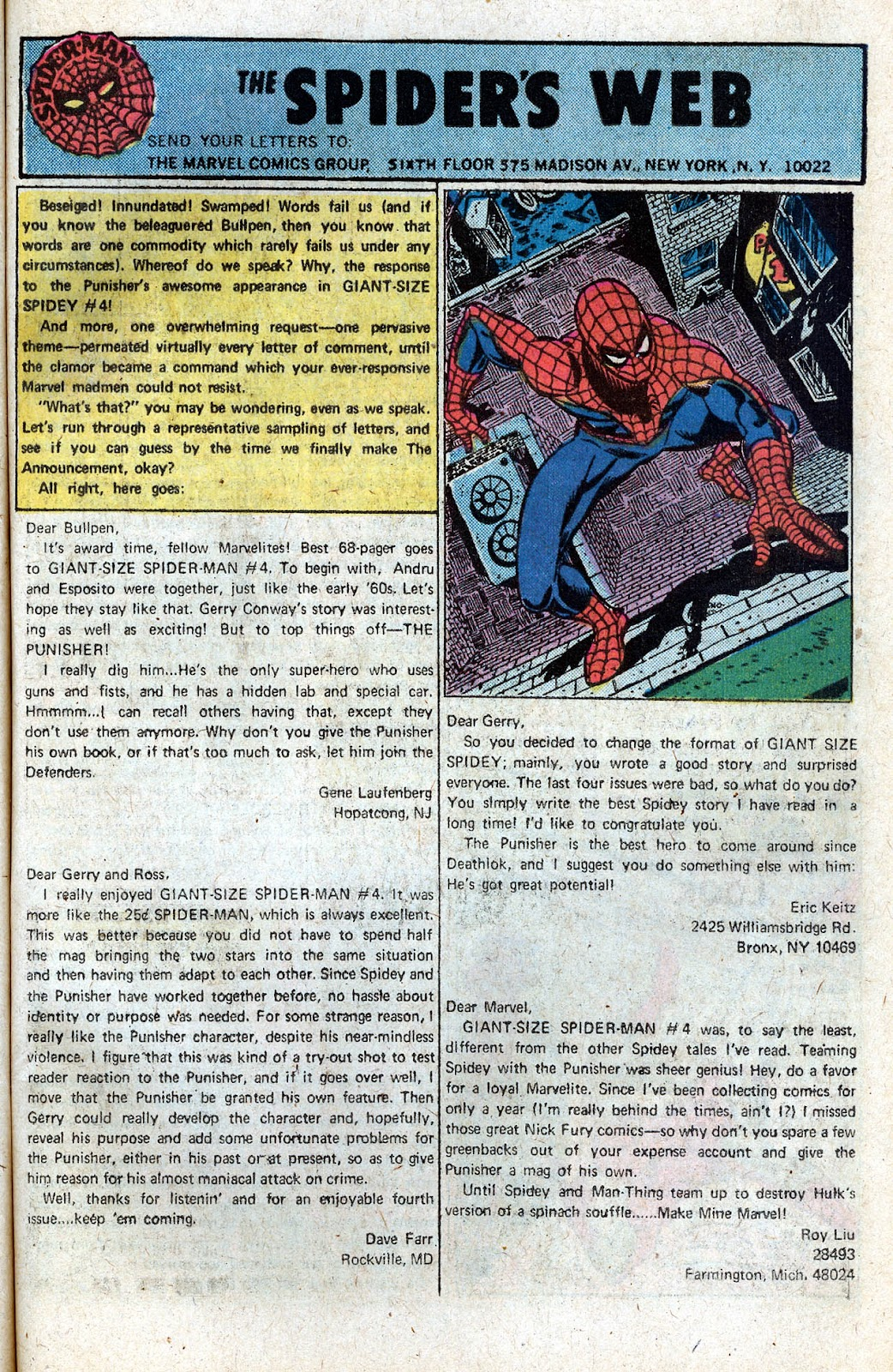 Giant-Size Spider-Man (1974) issue 5 - Page 43