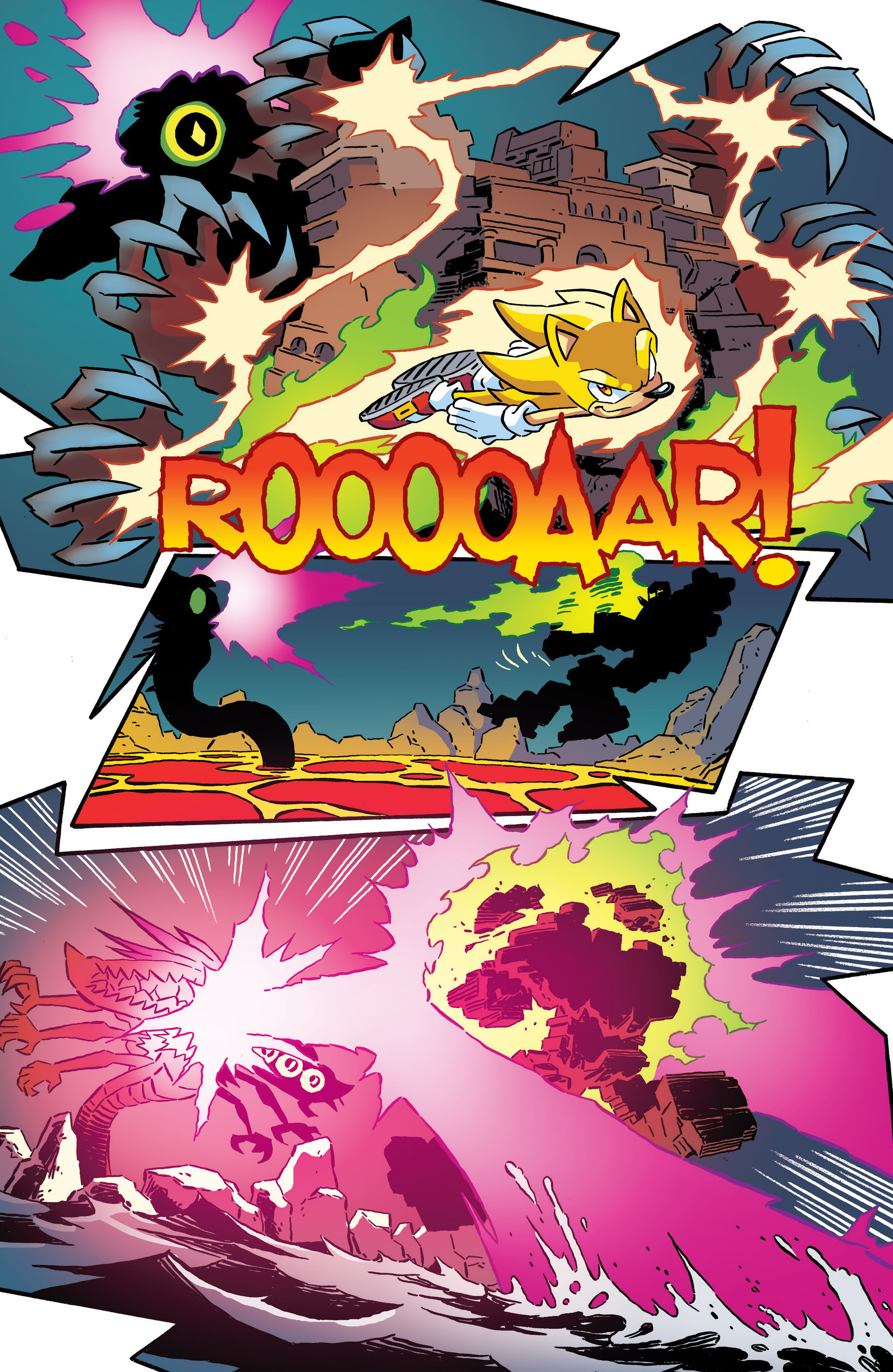 Read online Sonic The Hedgehog comic -  Issue #287 - 11