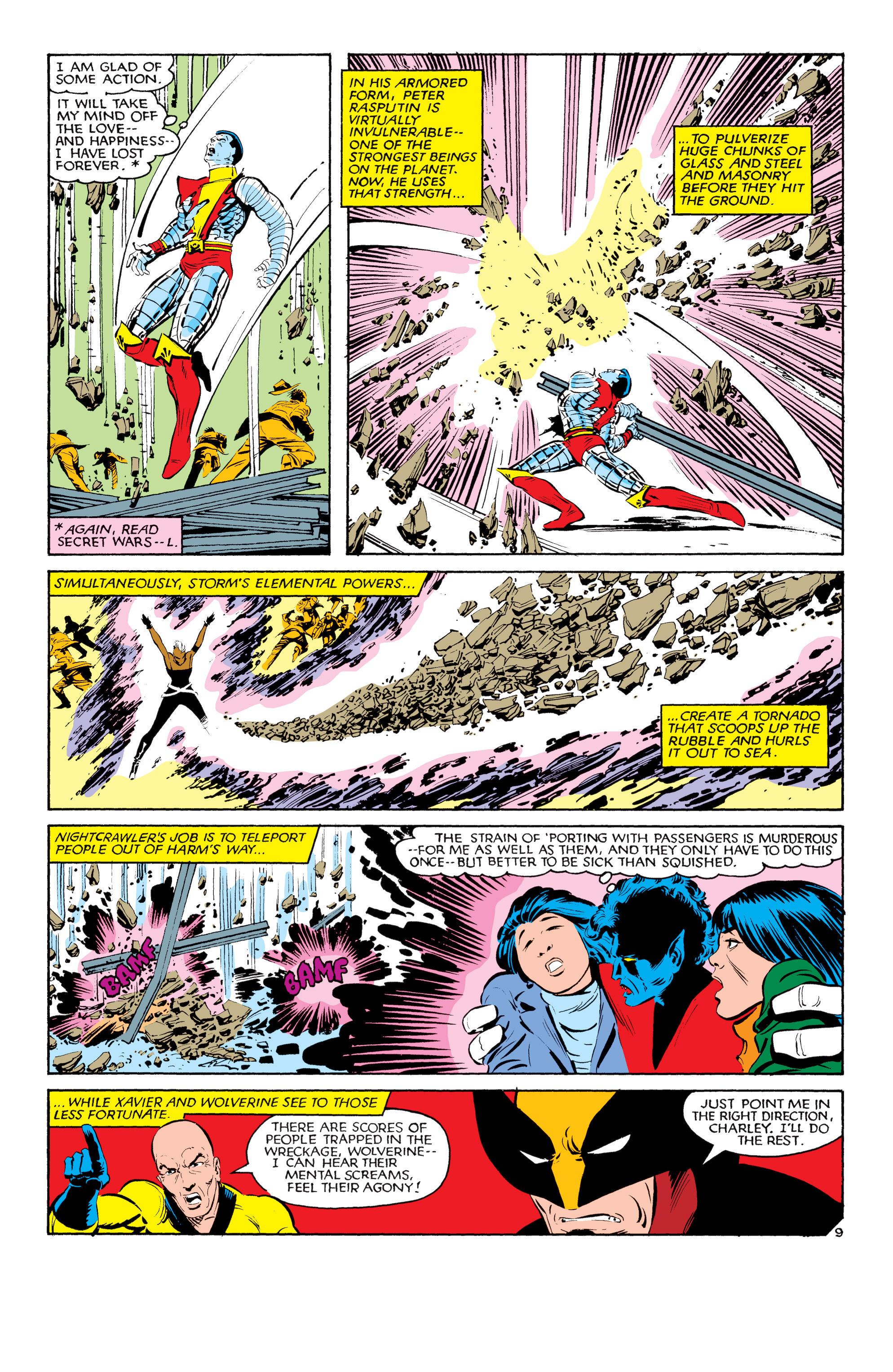 Read online Uncanny X-Men (1963) comic -  Issue #181 - 9
