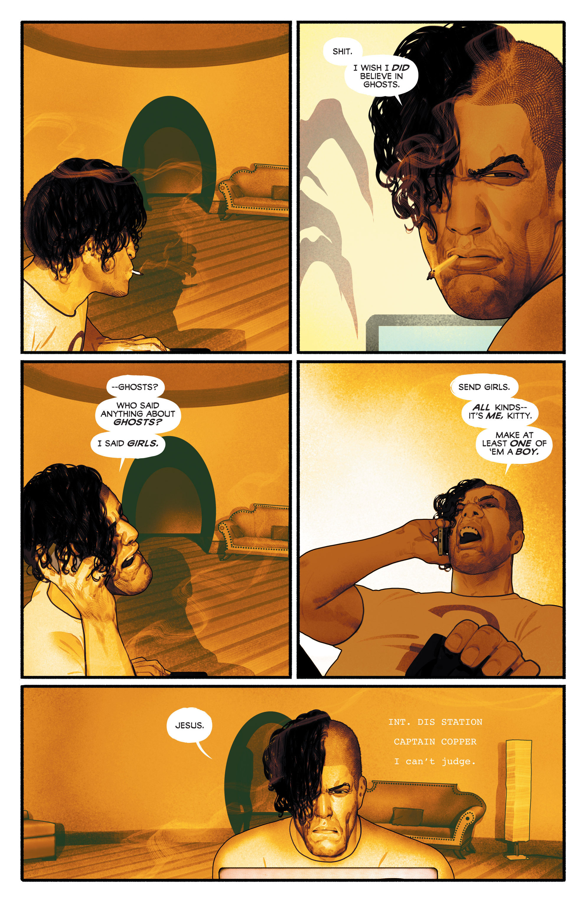 Read online Annihilator comic -  Issue #1 - 11