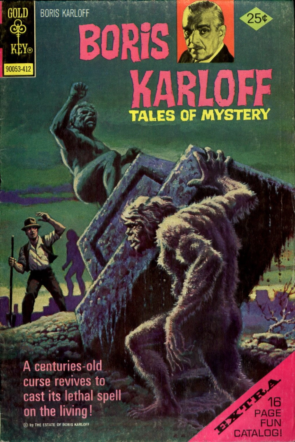 Boris Karloff Tales of Mystery issue 58 - Page 1