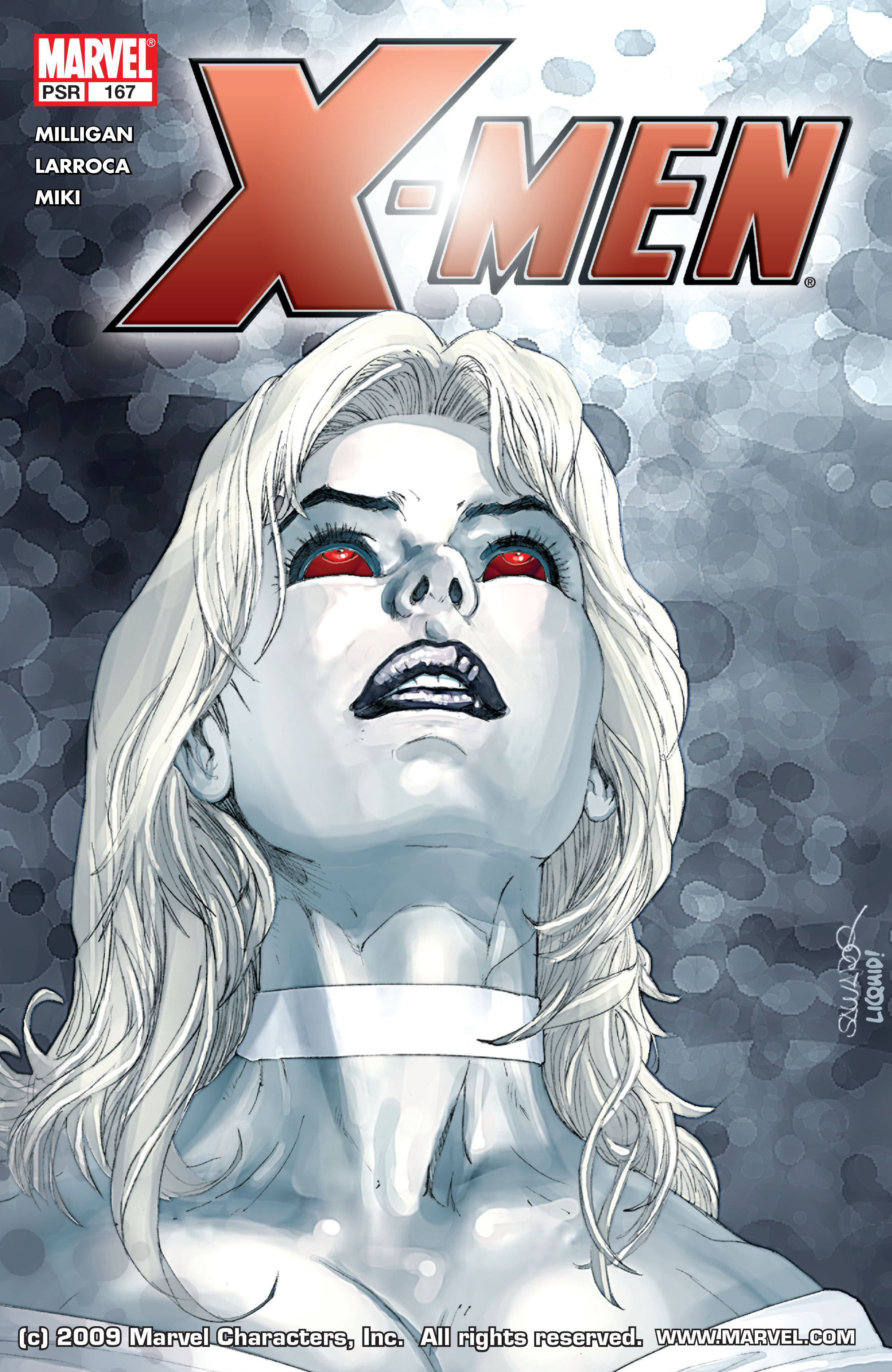 X-Men (1991) 167 Page 0