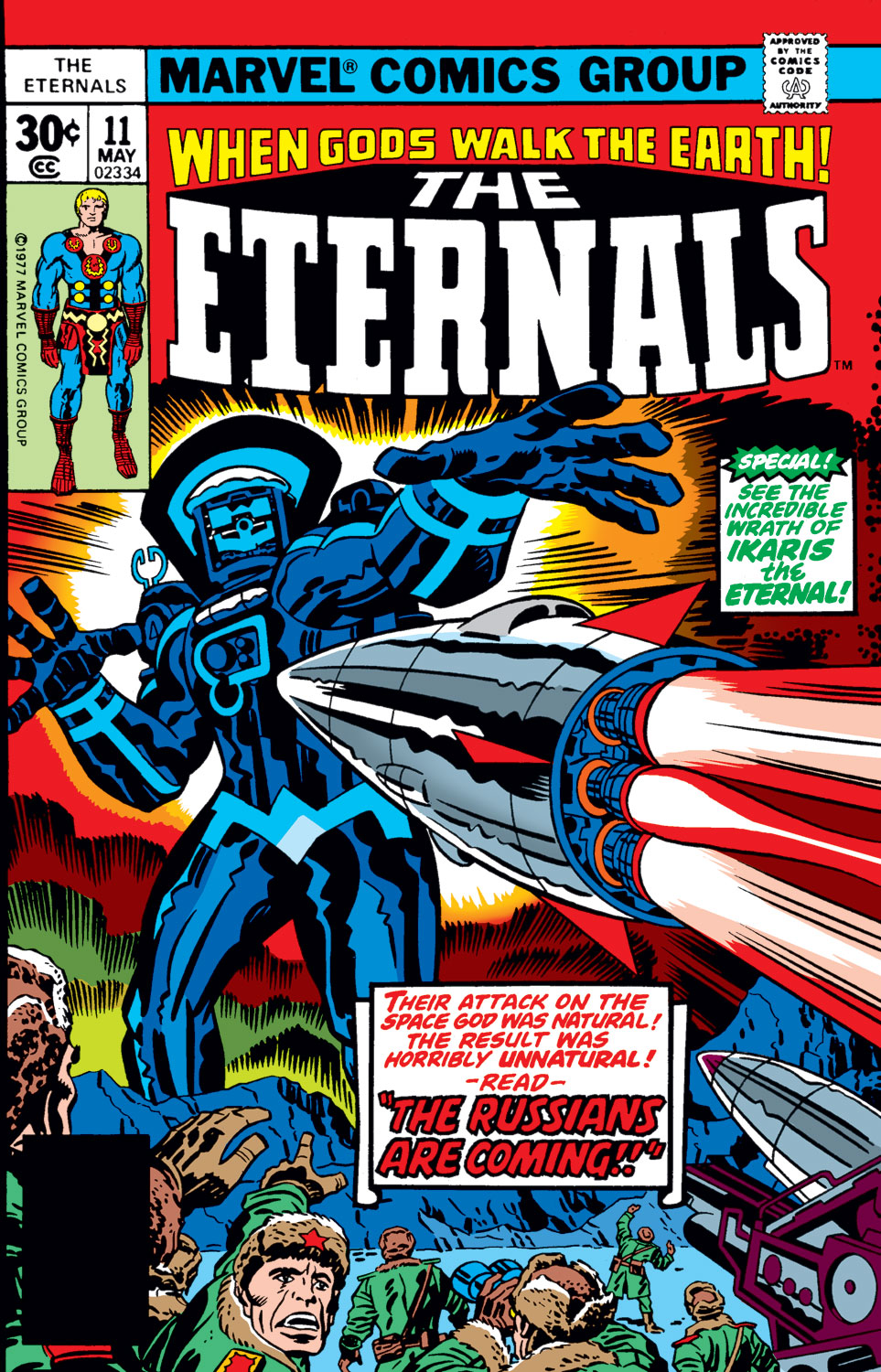 The Eternals issue 11 - Page 1