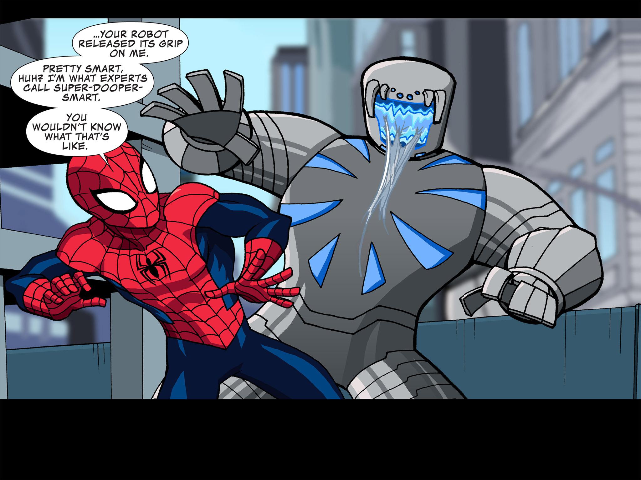 Read online Ultimate Spider-Man (Infinite Comics) (2015) comic -  Issue #4 - 12