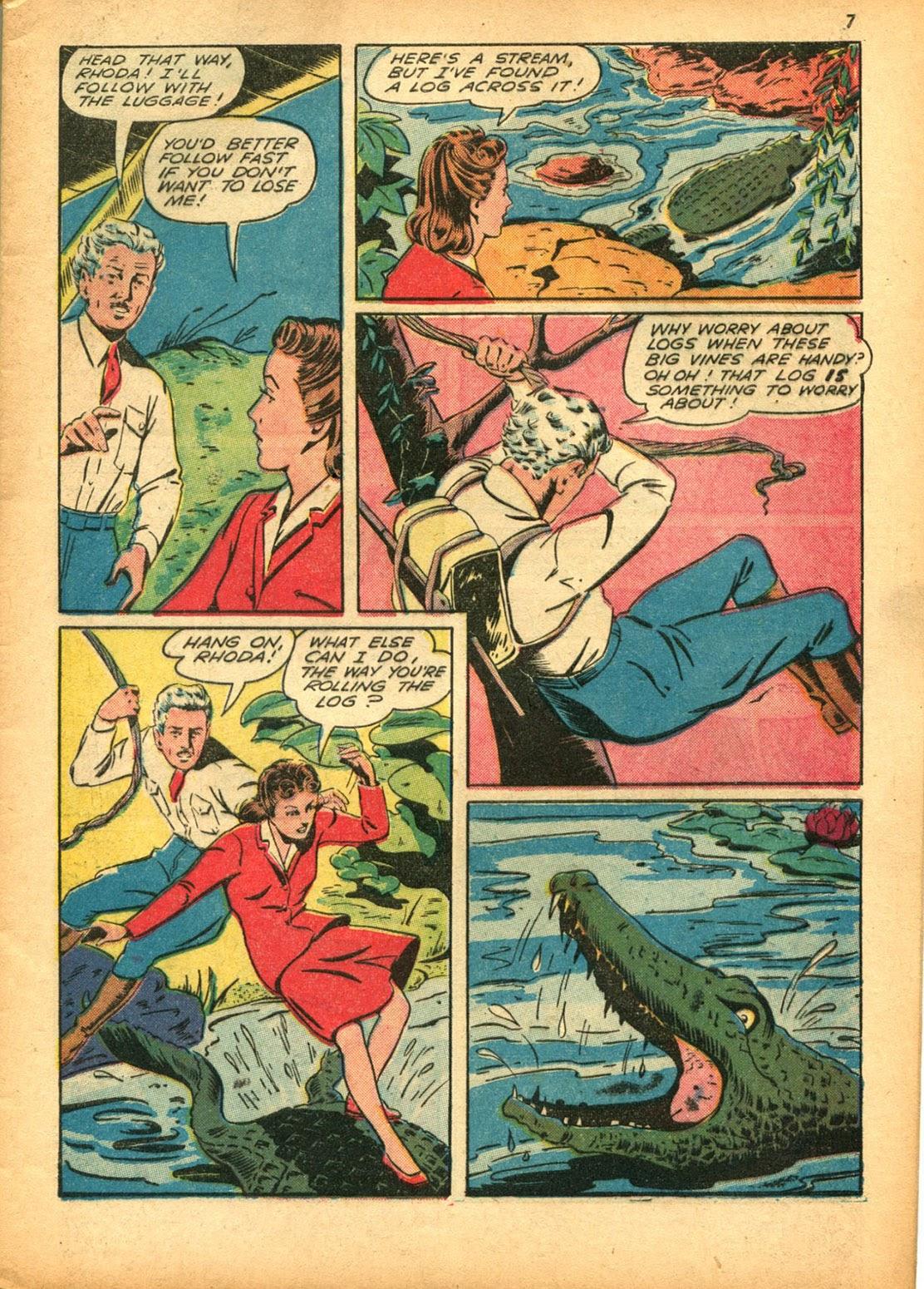 Read online Super-Magician Comics comic -  Issue #15 - 7