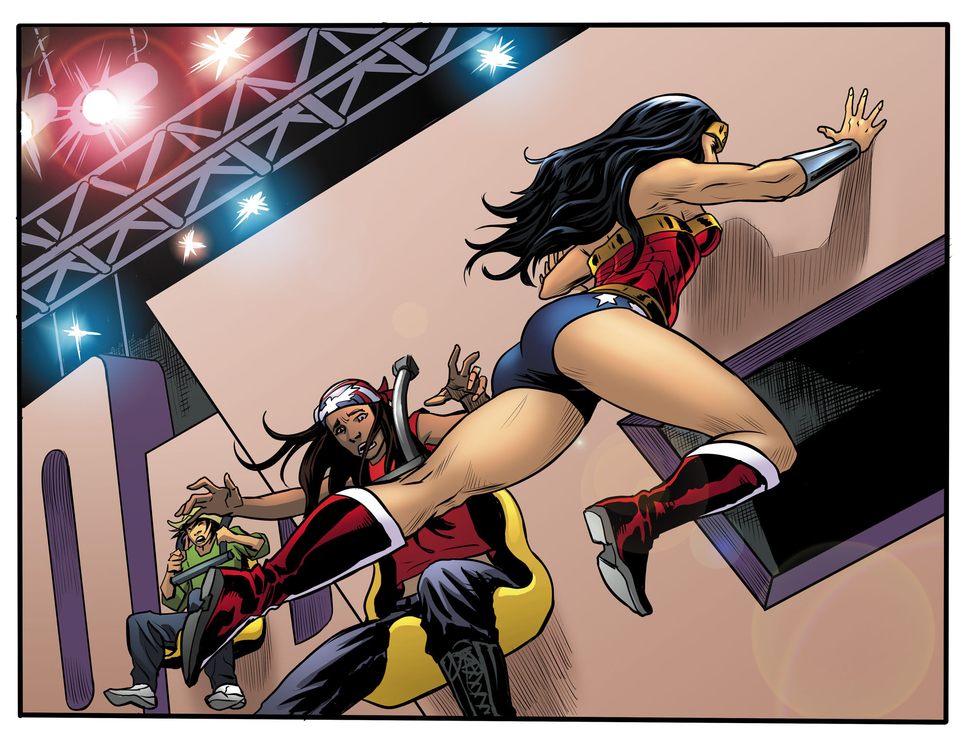 Read online Sensation Comics Featuring Wonder Woman comic -  Issue #30 - 11