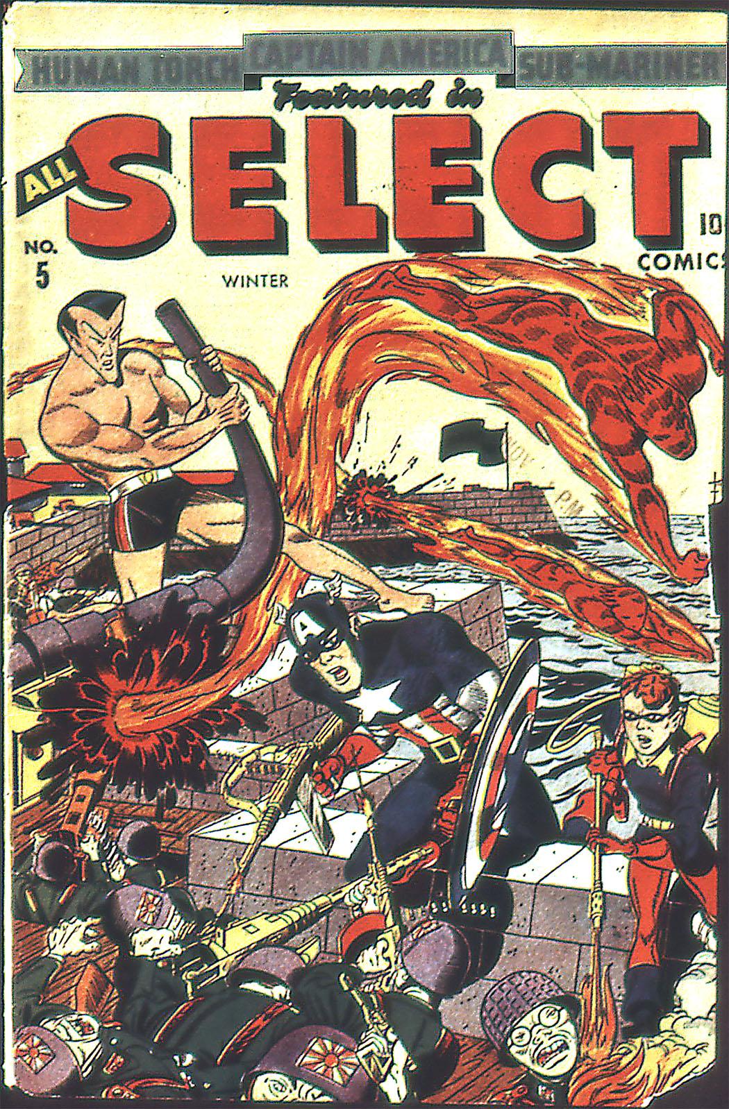 All-Select Comics 5 Page 1