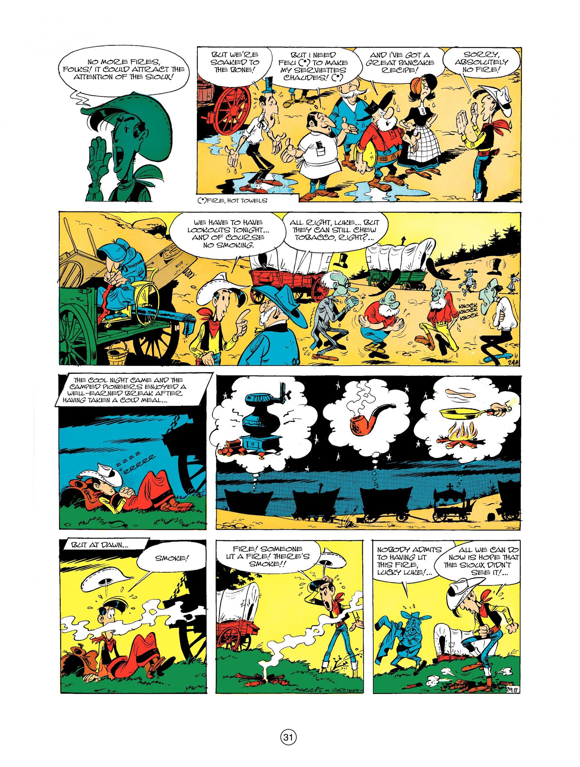 Read online A Lucky Luke Adventure comic -  Issue #9 - 31