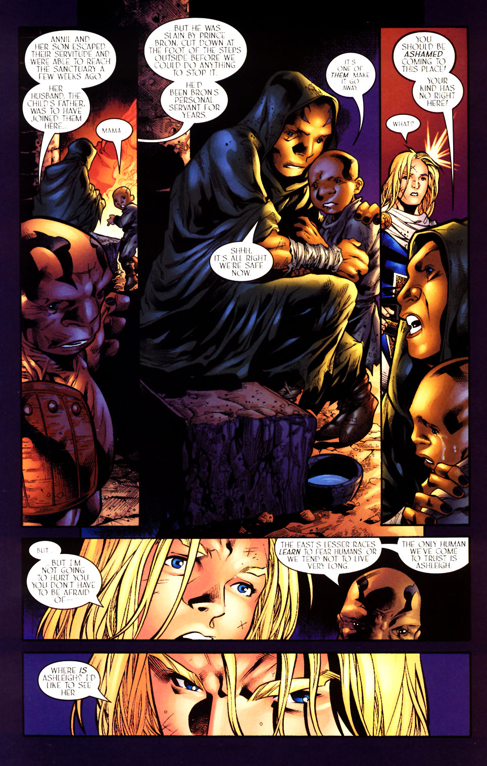Read online Scion comic -  Issue #10 - 8
