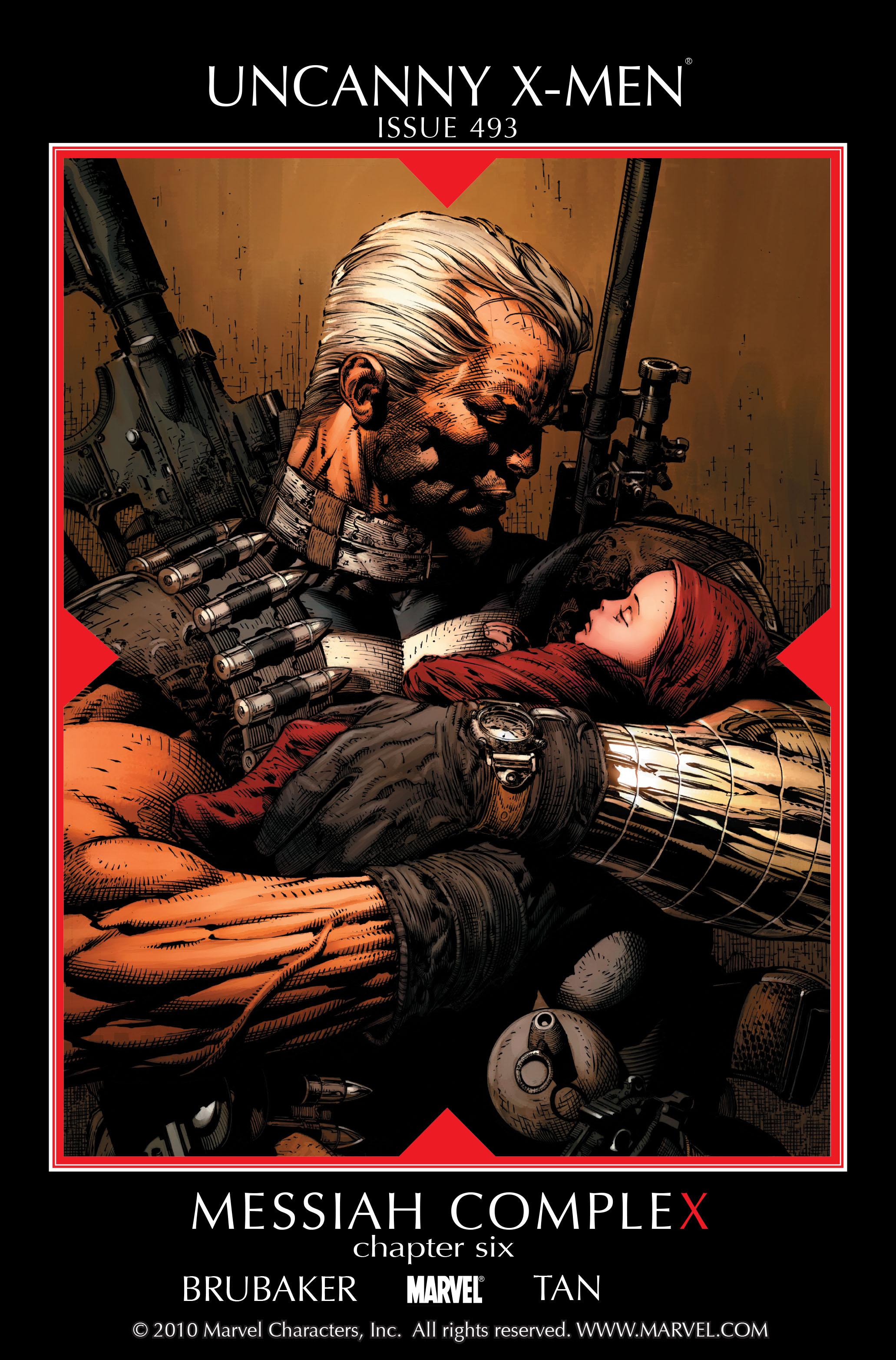 Uncanny X-Men (1963) 493 Page 1