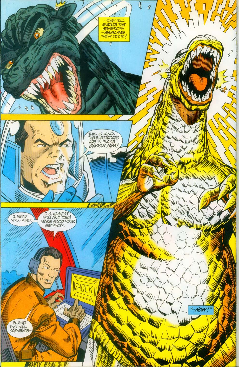 Godzilla (1995) Issue #14 #15 - English 25