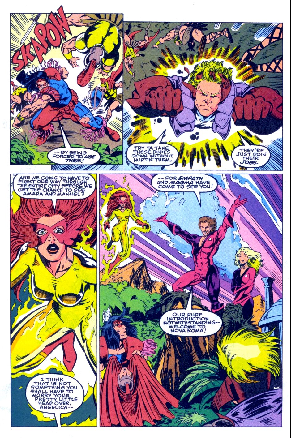 The New Warriors Issue #31 #35 - English 6