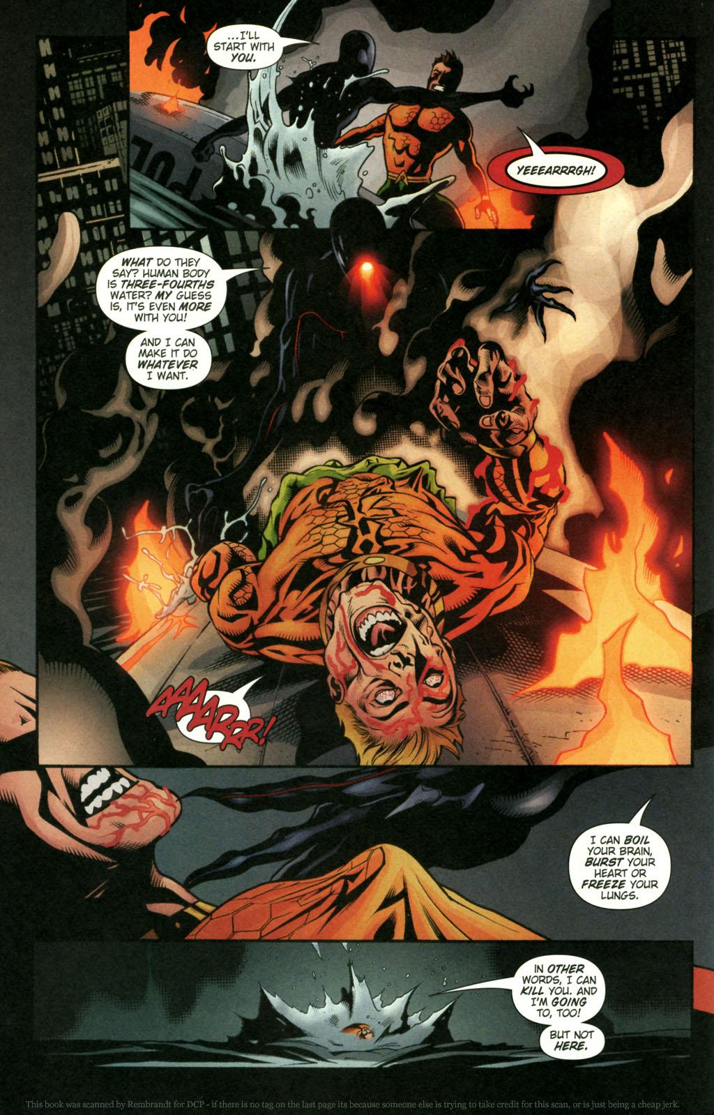 Read online Aquaman (2003) comic -  Issue #22 - 18