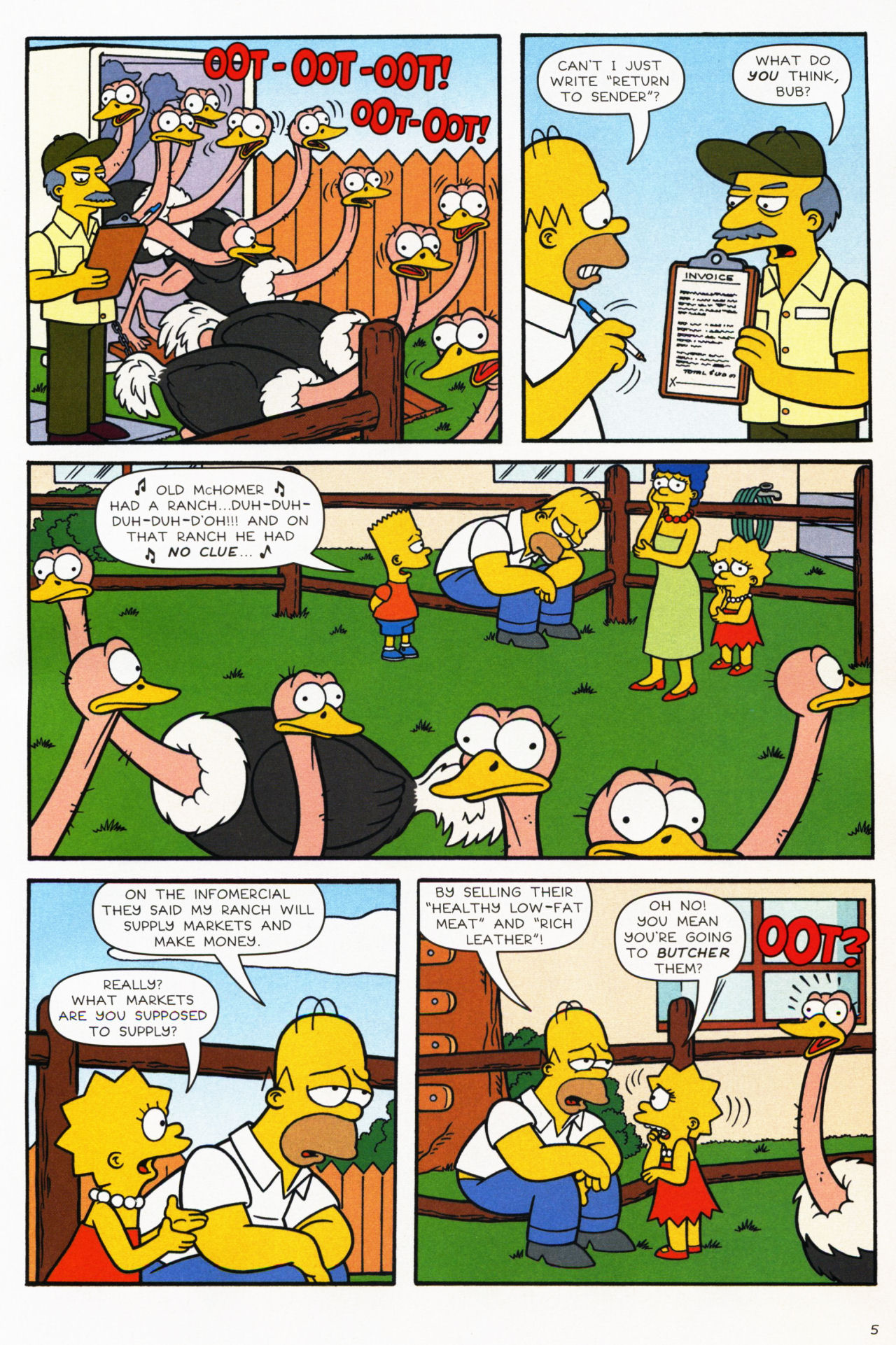 Read online Simpsons Comics comic -  Issue #139 - 6