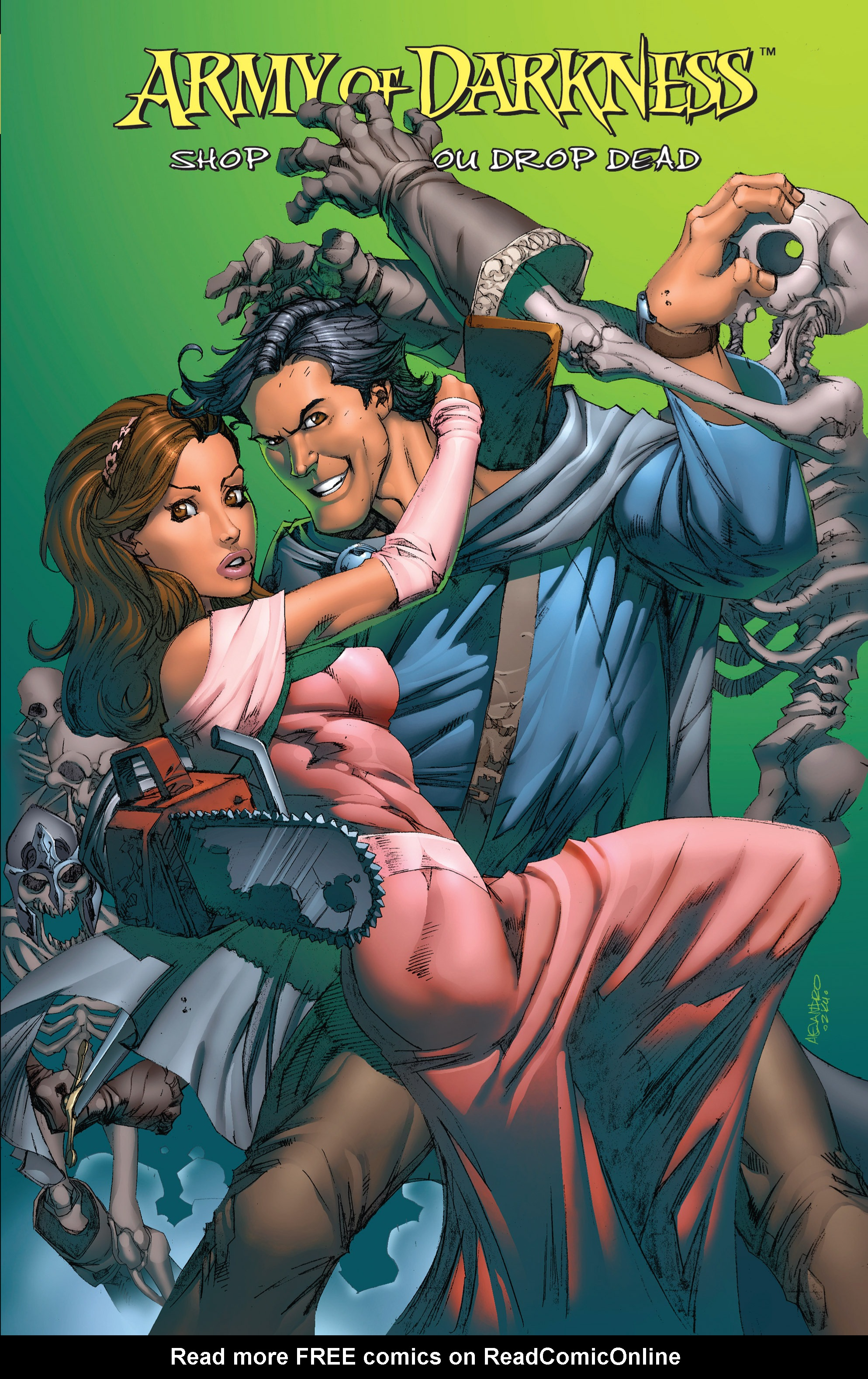 Read online Army of Darkness: Shop Till You Drop Dead comic -  Issue #Army of Darkness: Shop Till You Drop Dead TPB - 1