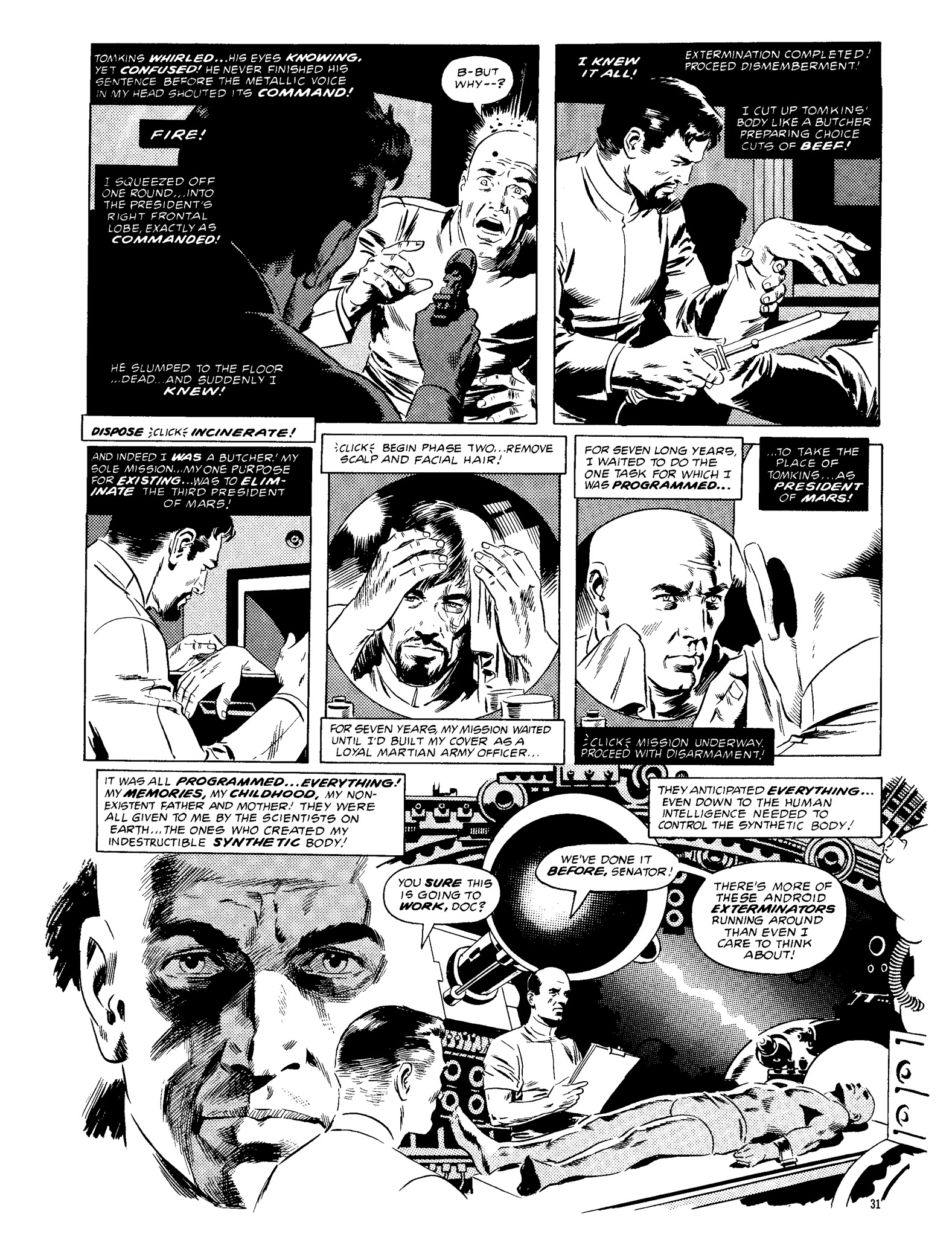 Read online Eerie Archives comic -  Issue # TPB 13 - 32