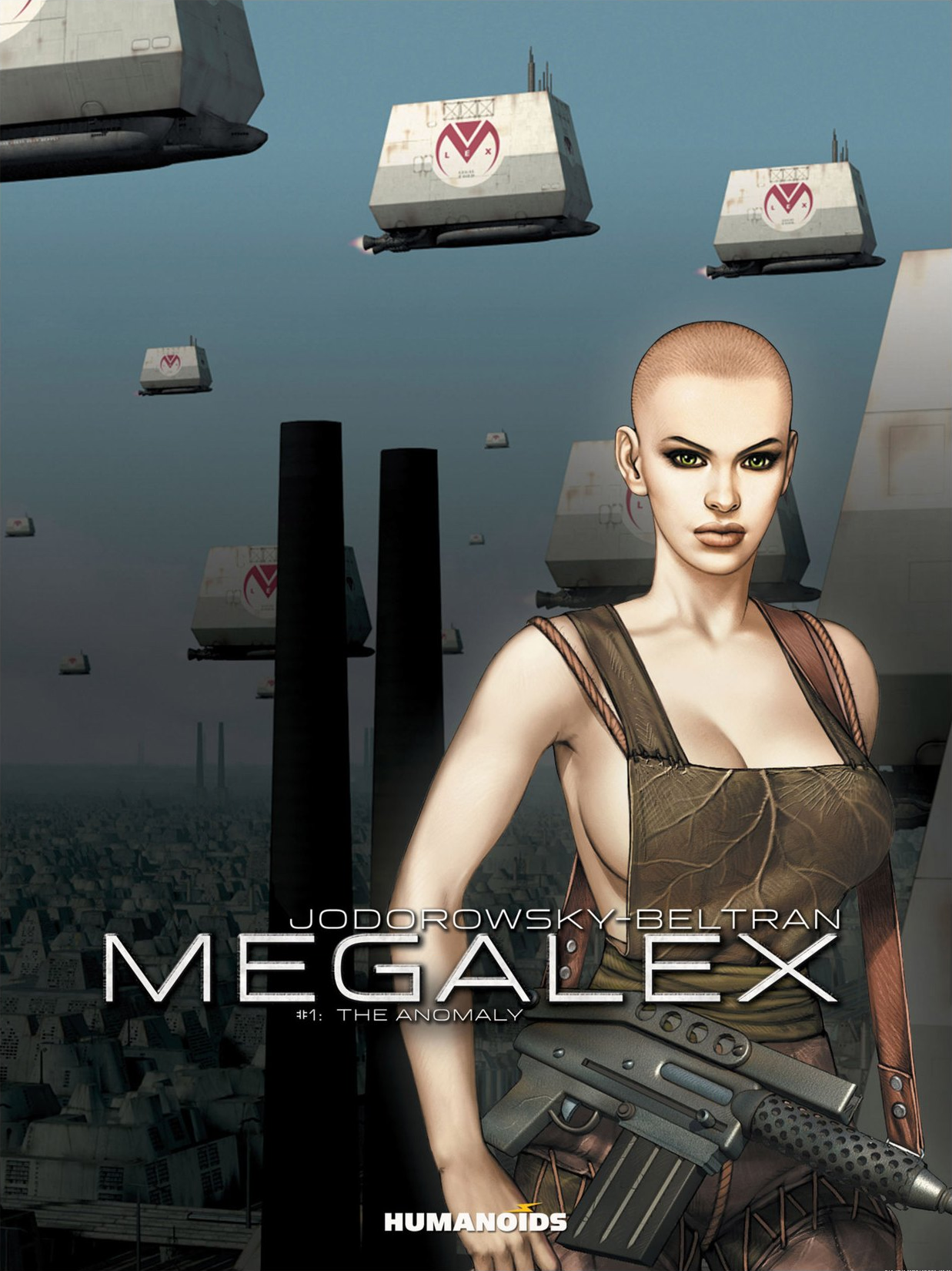 Read online Megalex (2014) comic -  Issue #1 - 1