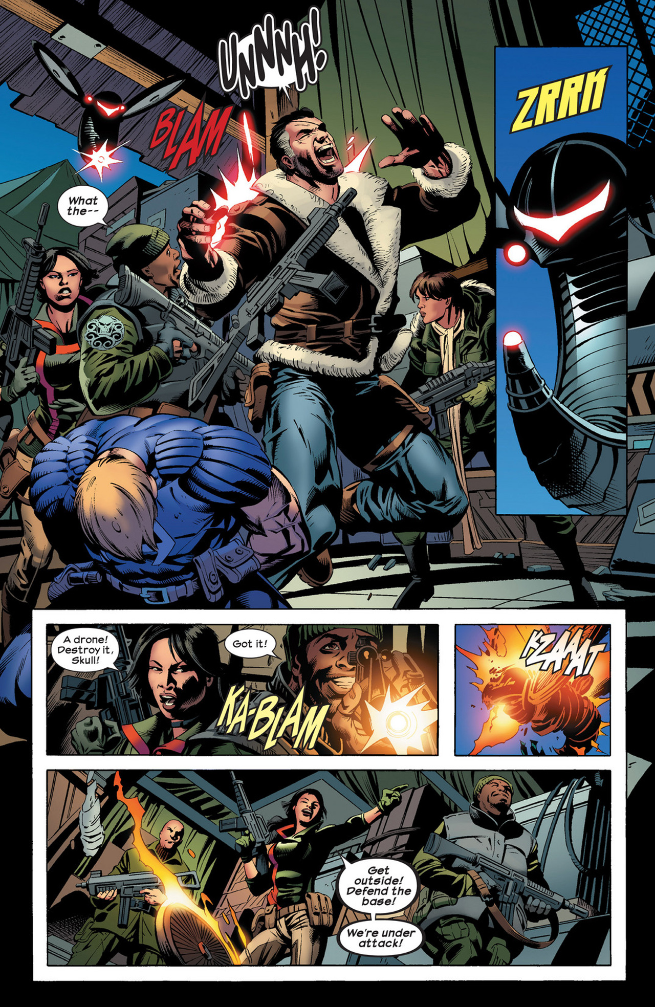 Read online Ultimate Comics Ultimates comic -  Issue #21 - 4