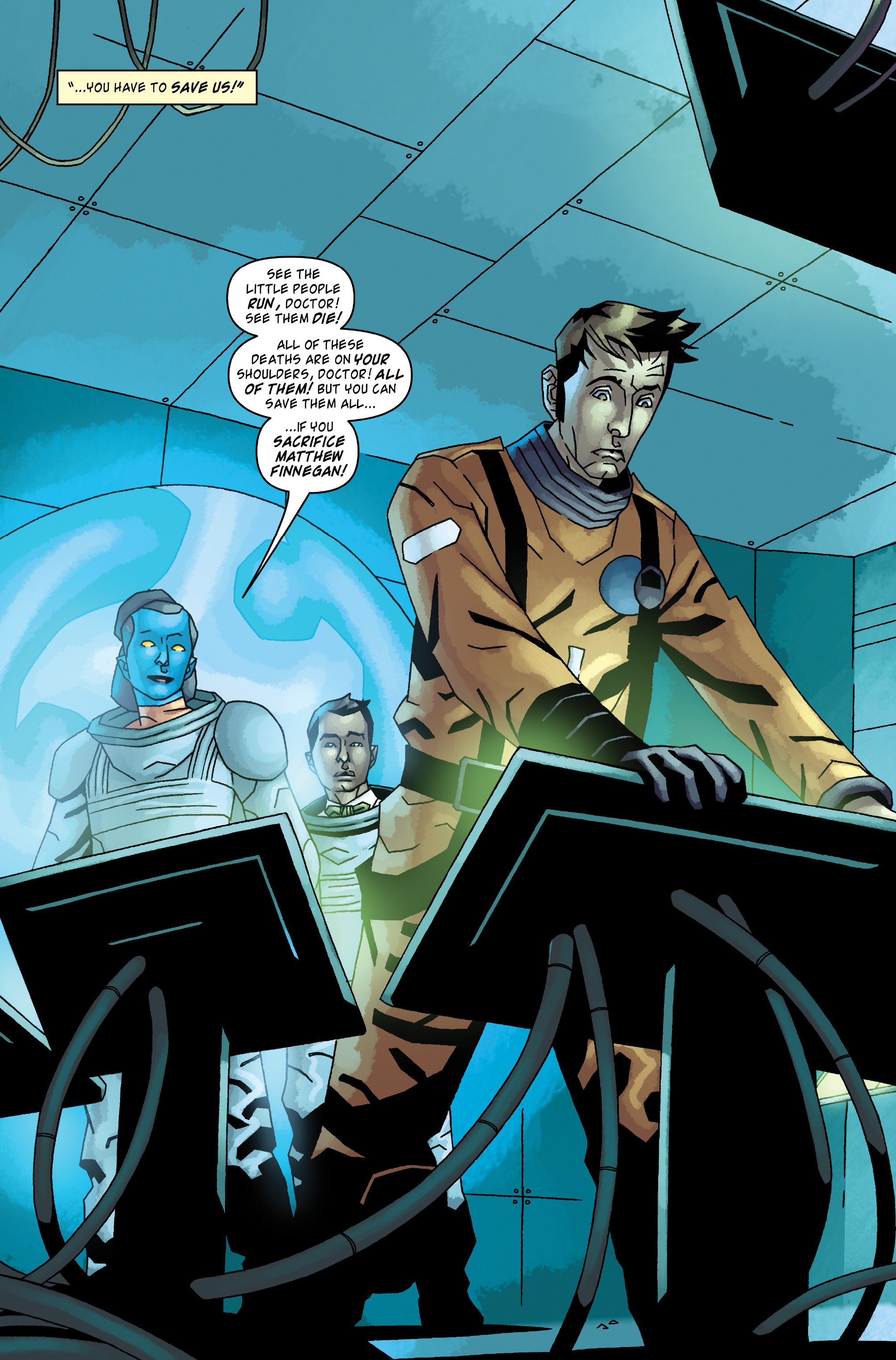 Read online Doctor Who: The Tenth Doctor Archives comic -  Issue #34 - 4