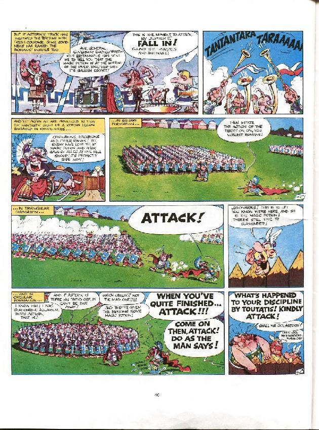 Read online Asterix comic -  Issue #8 - 43
