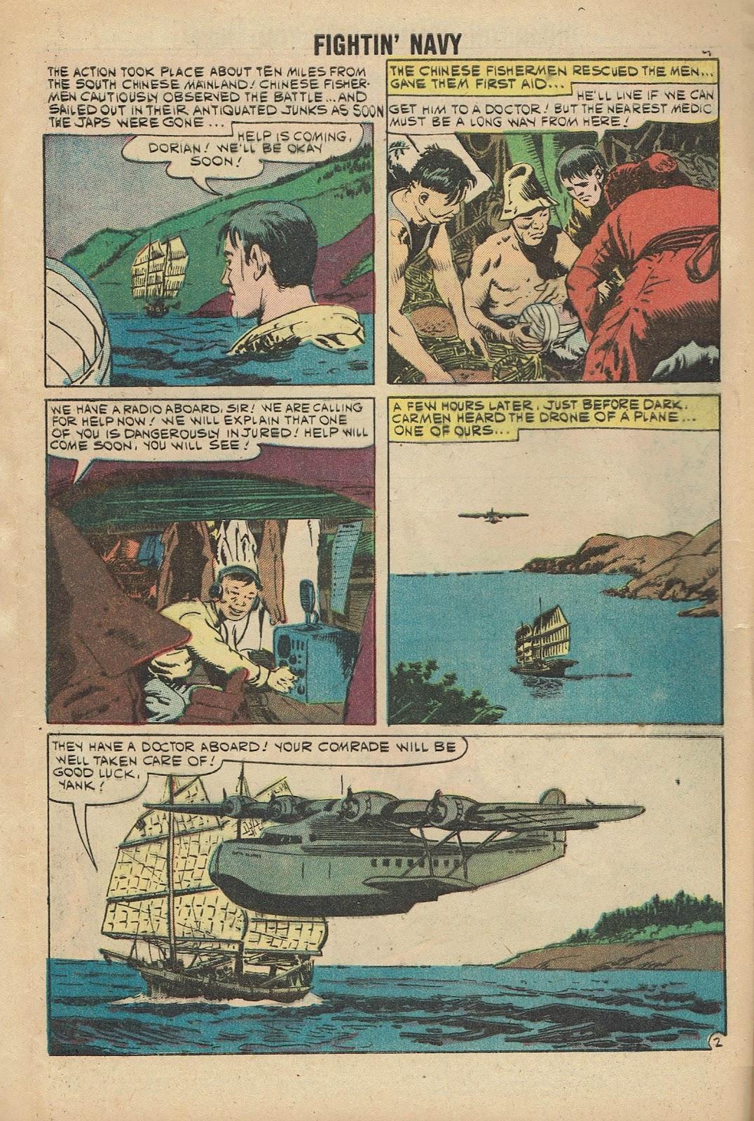 Read online Fightin' Navy comic -  Issue #96 - 4