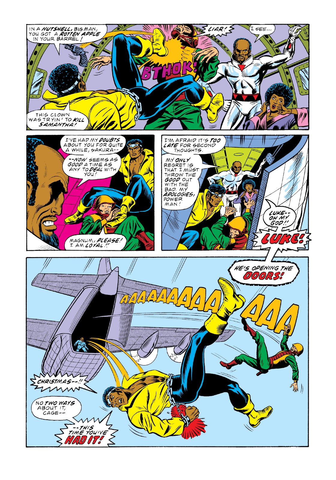 Read online Marvel Masterworks: Luke Cage, Power Man comic -  Issue # TPB 3 (Part 1) - 98