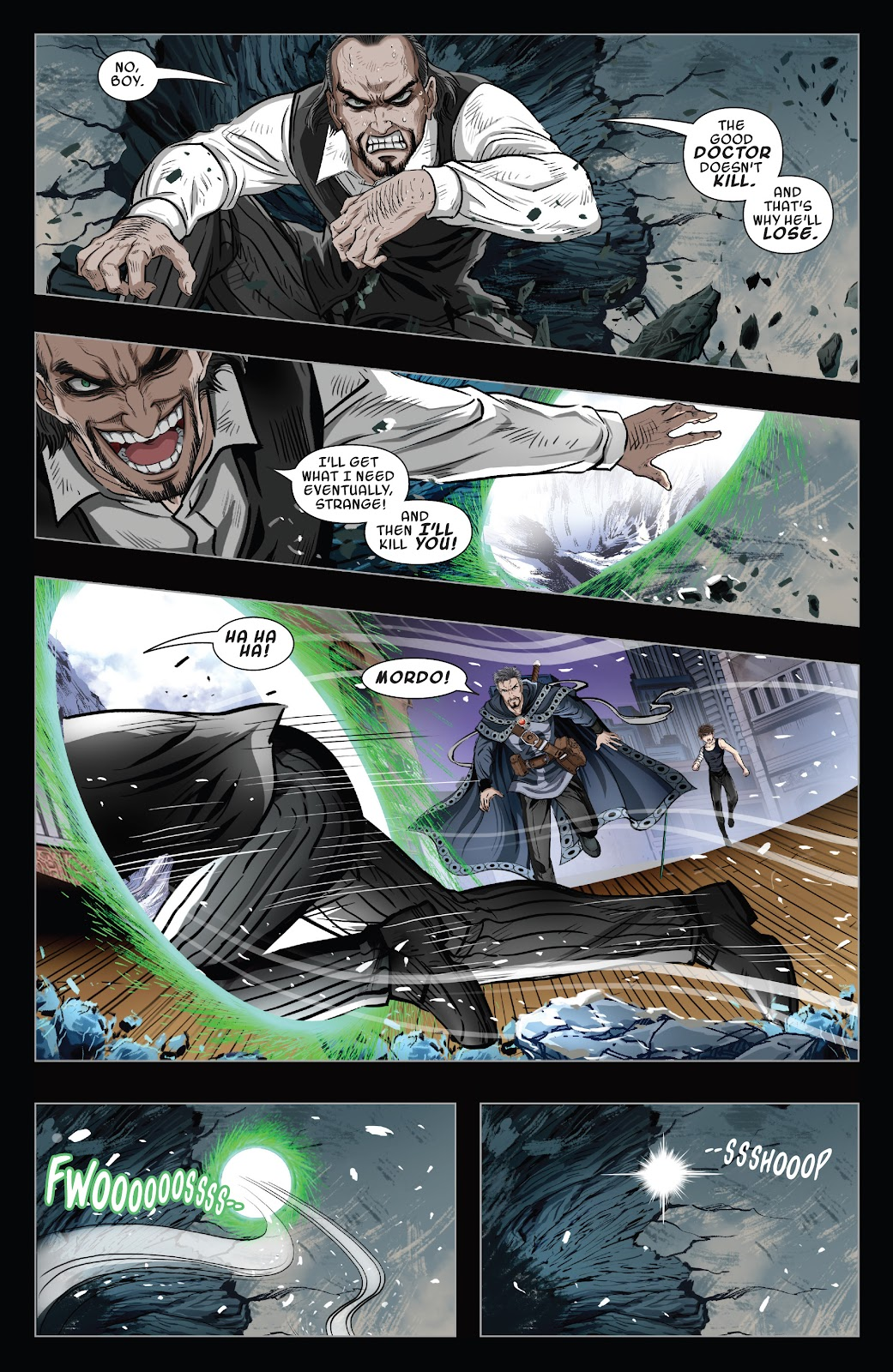 Read online Sword Master comic -  Issue #5 - 21