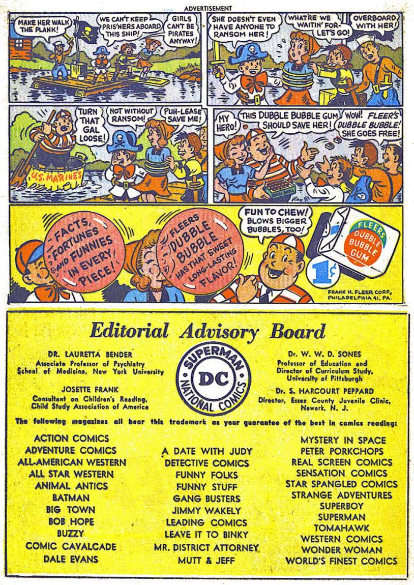 Read online Sensation (Mystery) Comics comic -  Issue #104 - 16