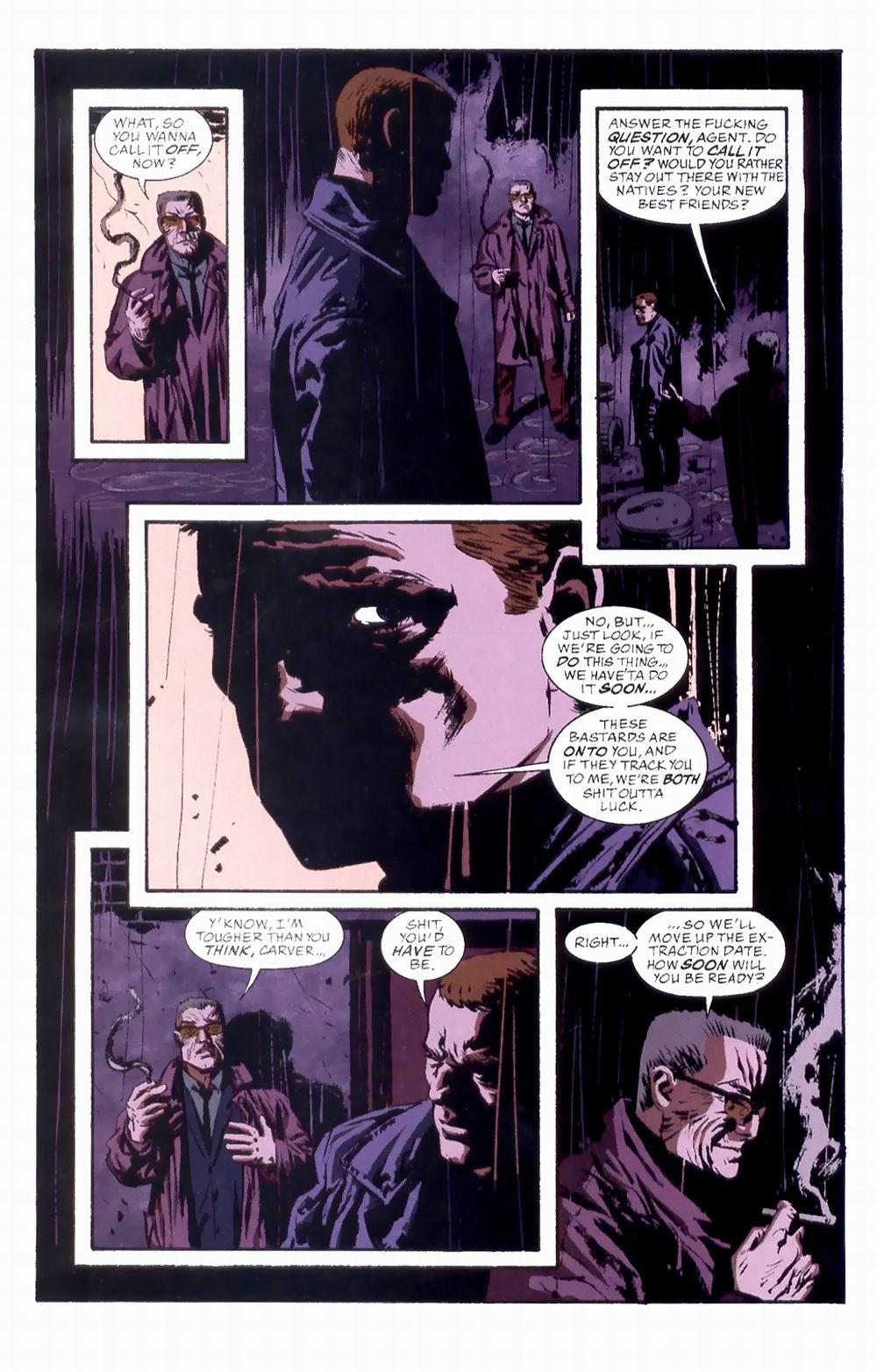 Read online Sleeper comic -  Issue #8 - 13