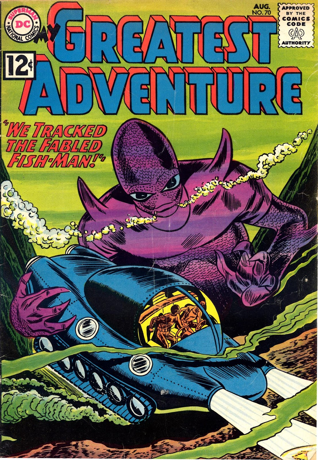 My Greatest Adventure (1955) issue 70 - Page 1