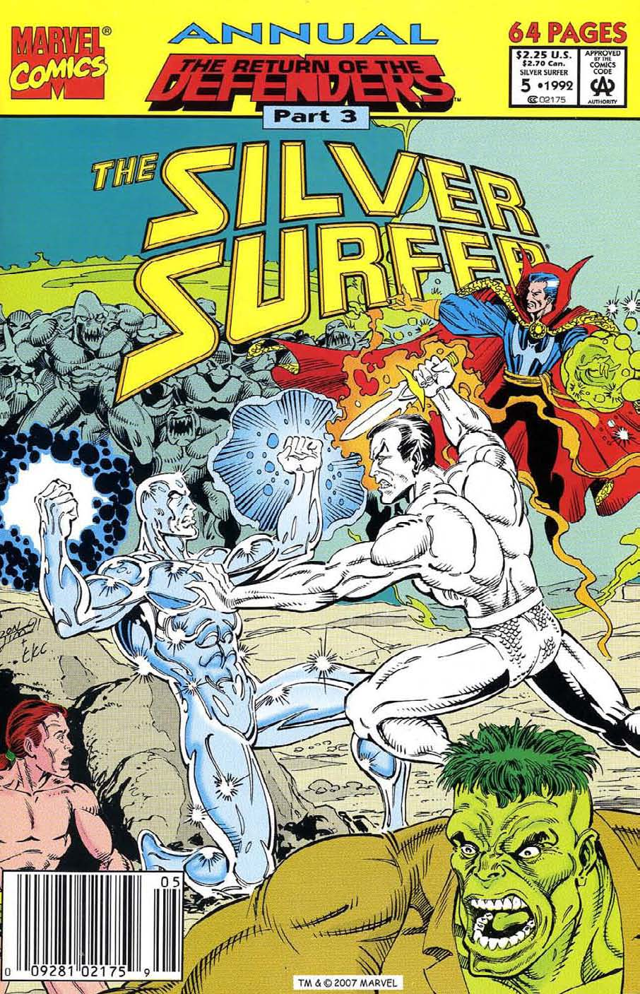 Read online Silver Surfer (1987) comic -  Issue # _Annual 5 - 1