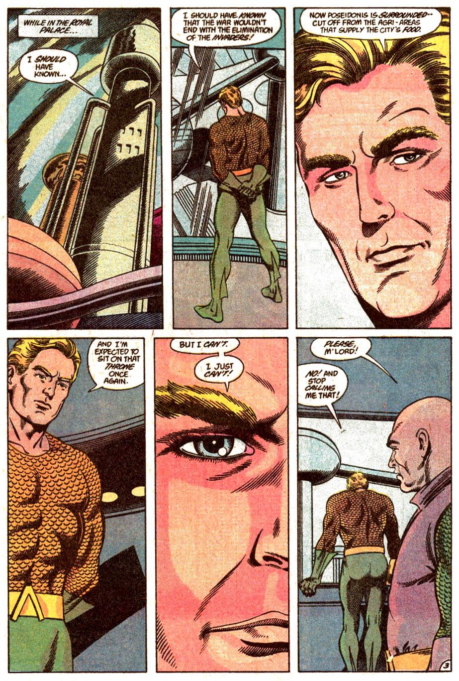 Read online Aquaman (1989) comic -  Issue #4 - 4