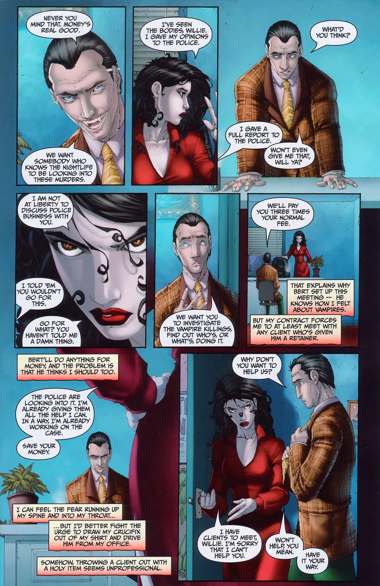 Read online Anita Blake, Vampire Hunter: Guilty Pleasures comic -  Issue #1 - 6