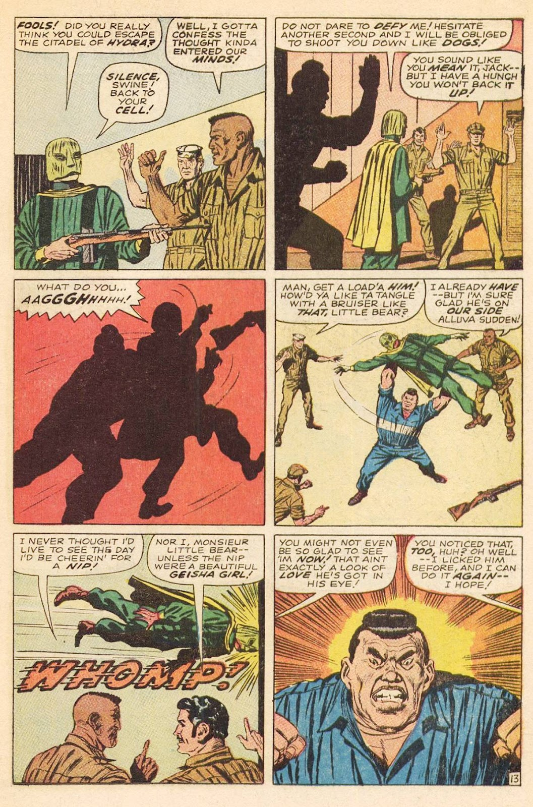 Captain Savage and his Leatherneck Raiders issue 3 - Page 19