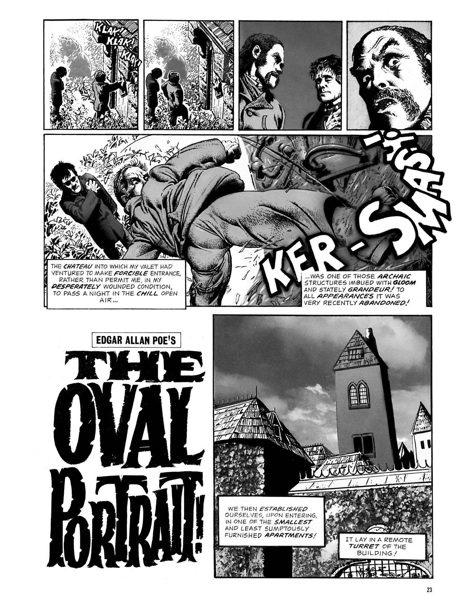 Read online Eerie Archives comic -  Issue # TPB 18 - 24