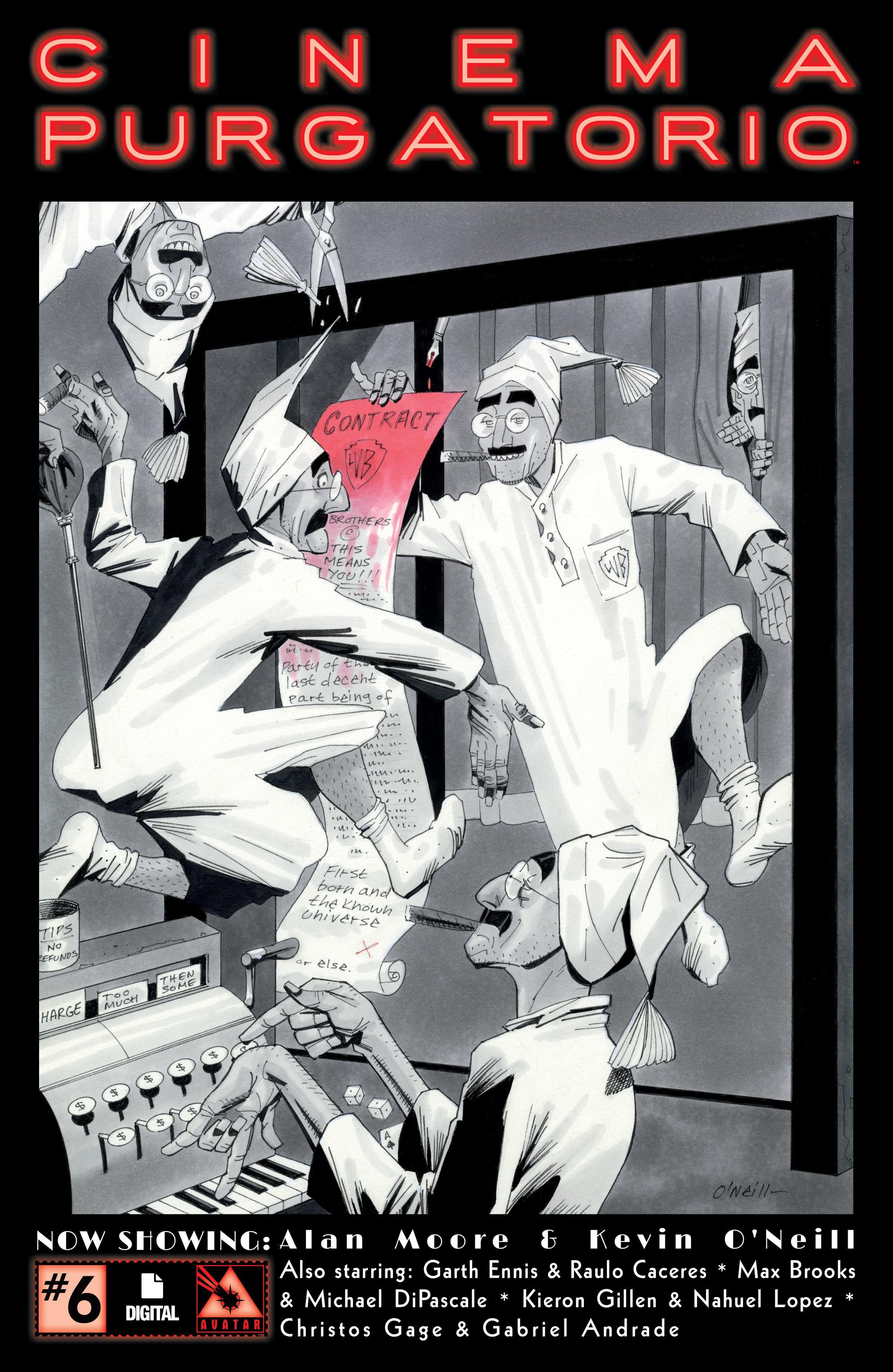Read online Alan Moore's Cinema Purgatorio comic -  Issue #6 - 1