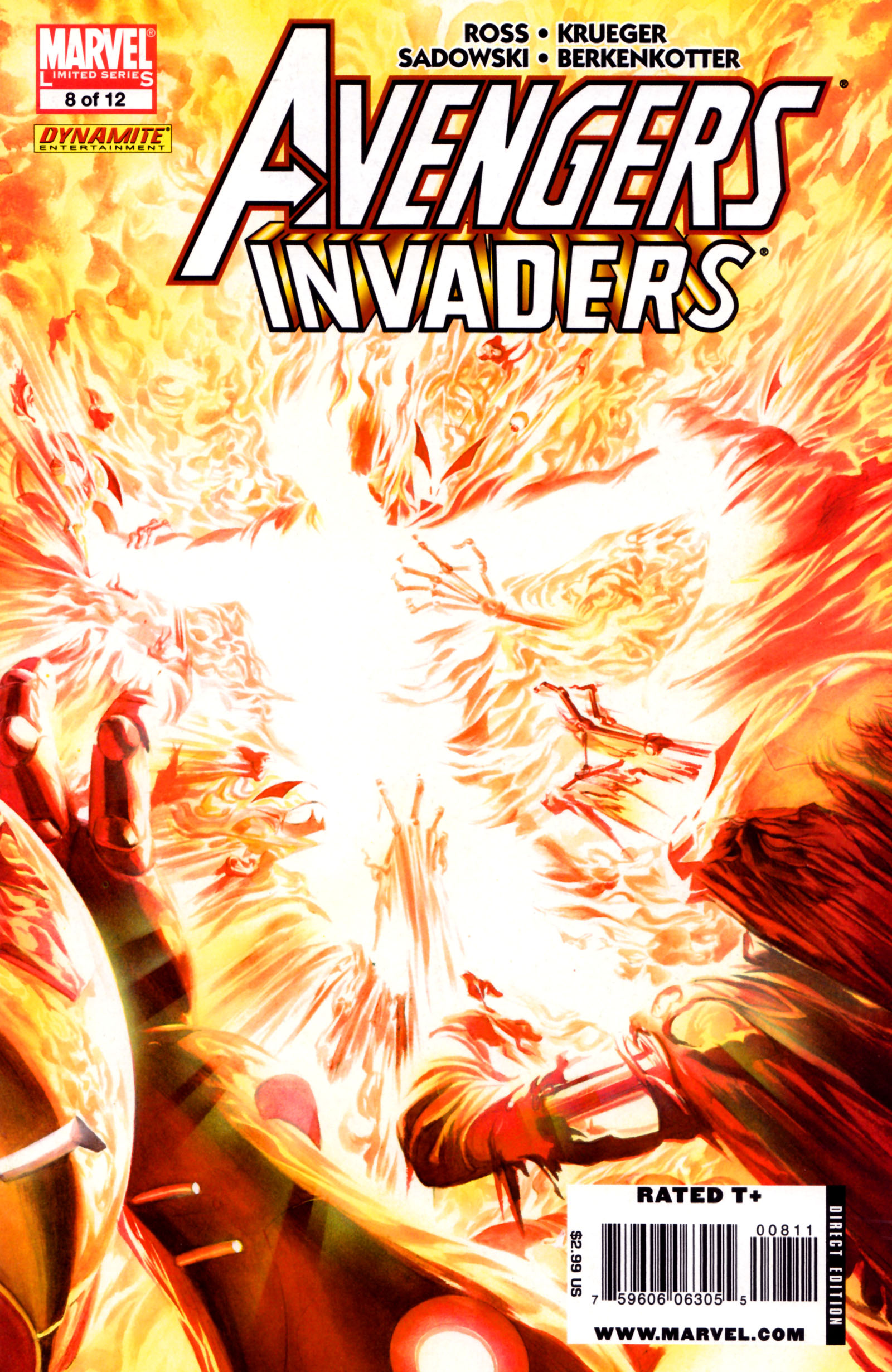 Avengers/Invaders 8 Page 1