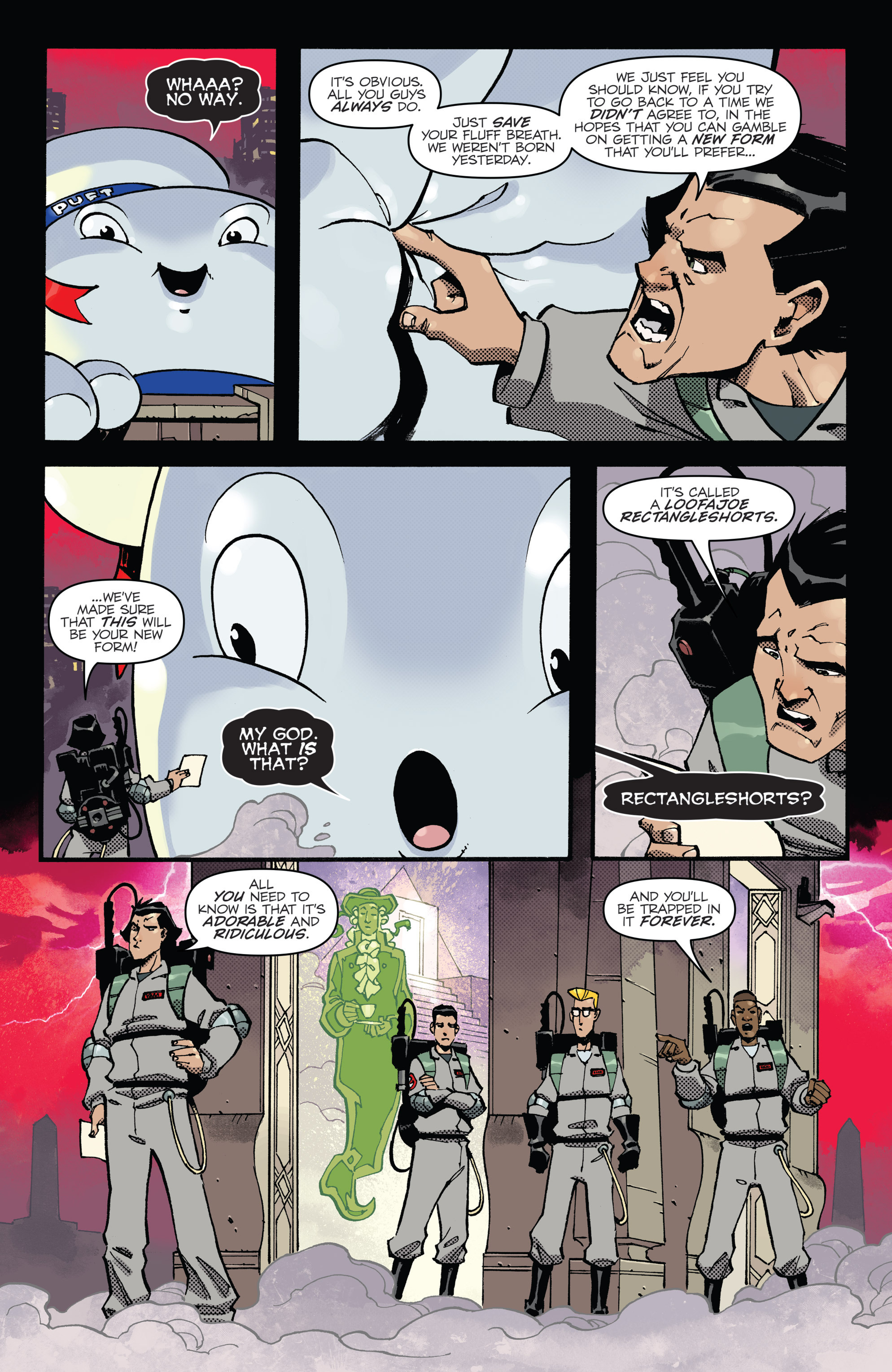 Read online Ghostbusters: Deviations comic -  Issue #1 - 19