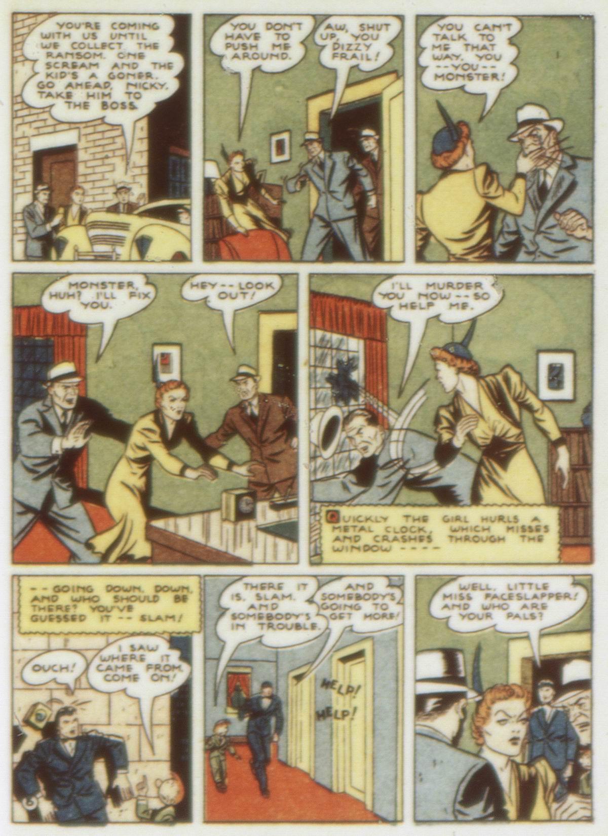 Read online Detective Comics (1937) comic -  Issue #58 - 63