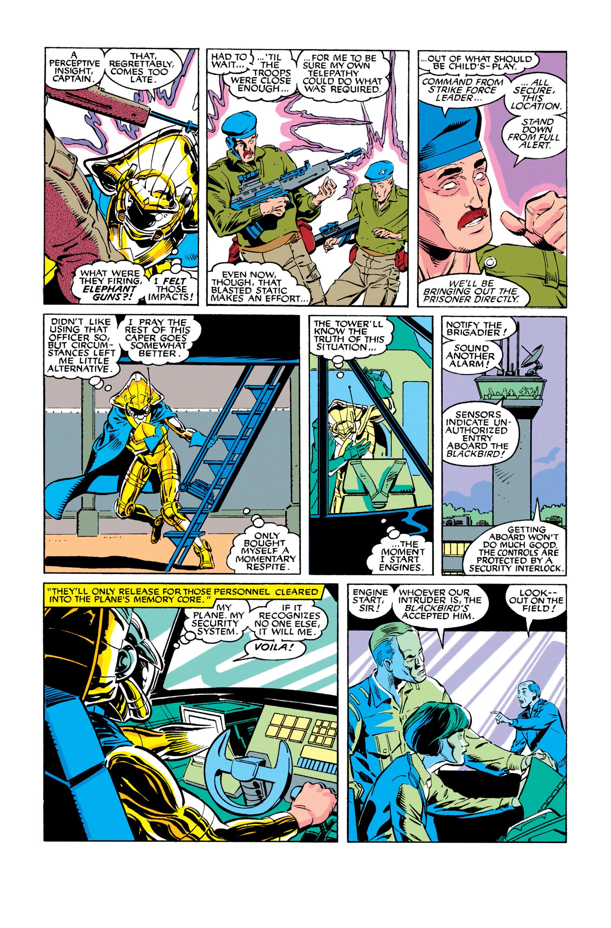 Read online Uncanny X-Men (1963) comic -  Issue #278 - 7