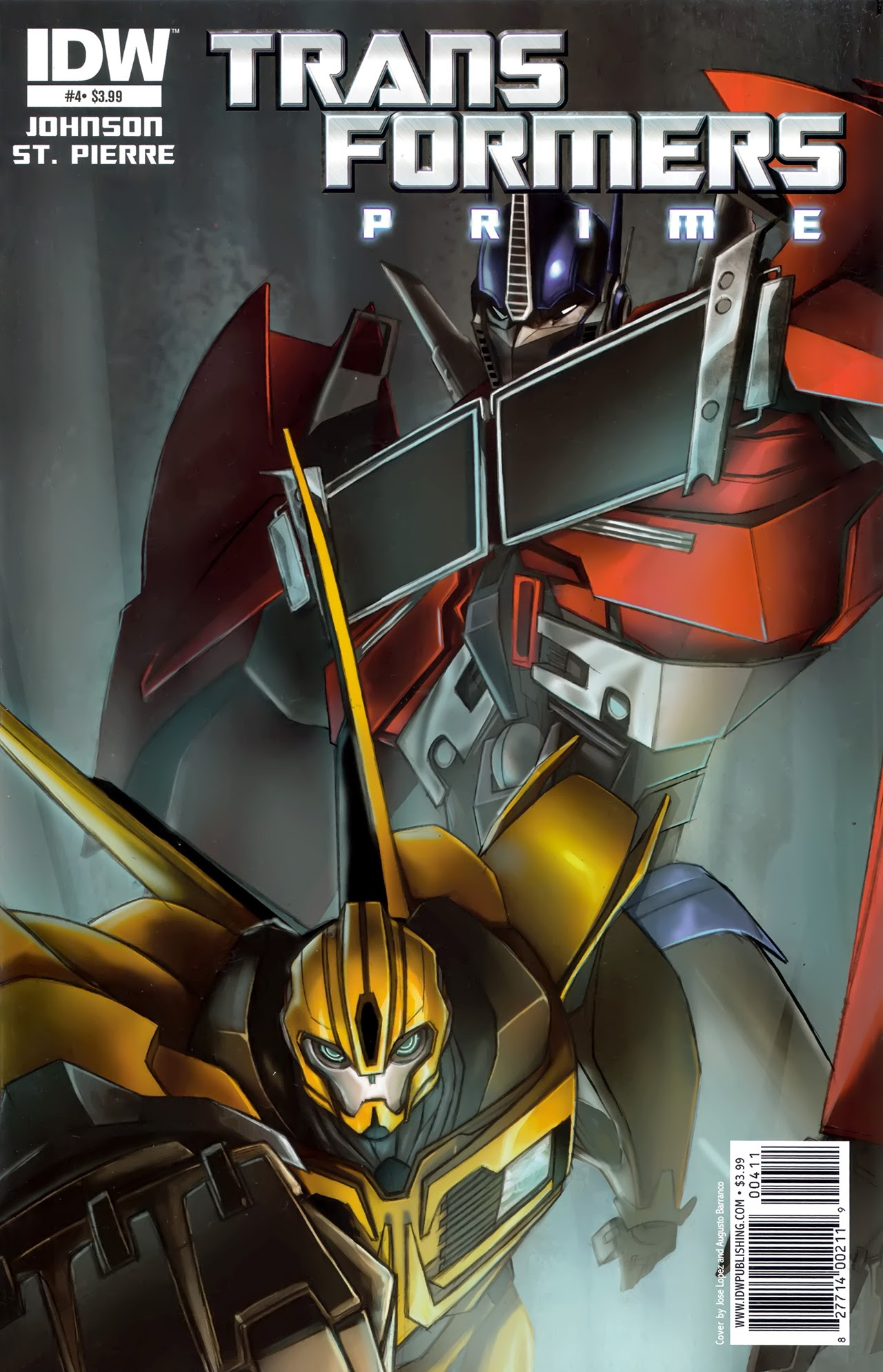 The Transformers: Prime 4 Page 1