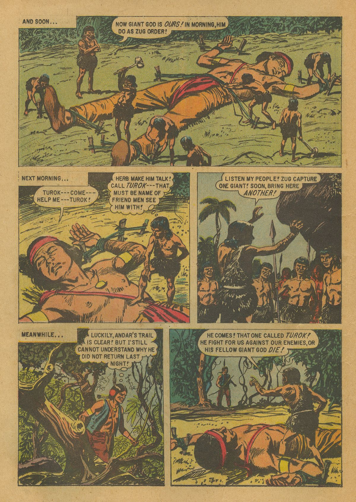 Read online Turok, Son of Stone comic -  Issue #17 - 12